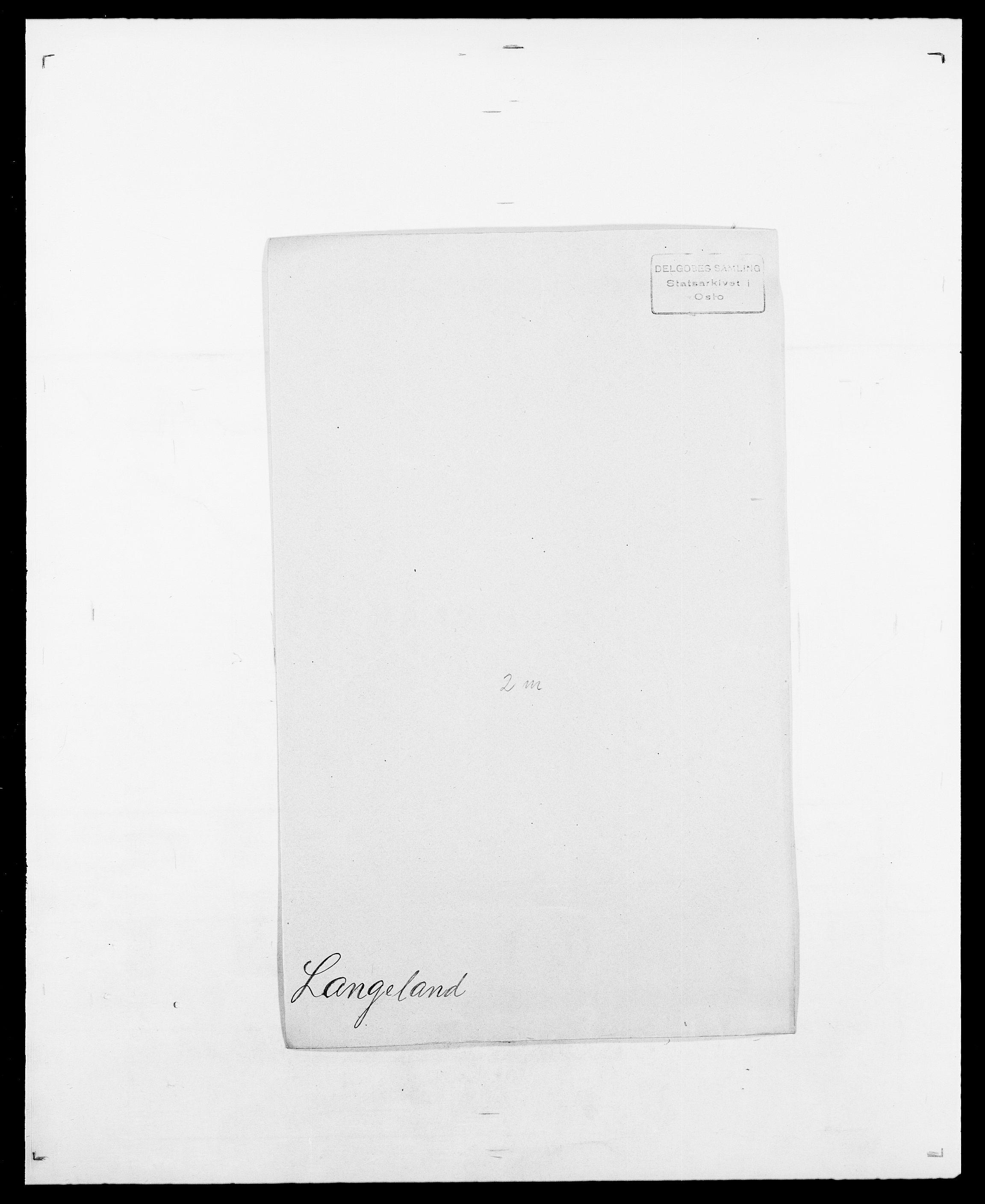 SAO, Delgobe, Charles Antoine - samling, D/Da/L0022: Krog - Lasteen, s. 675