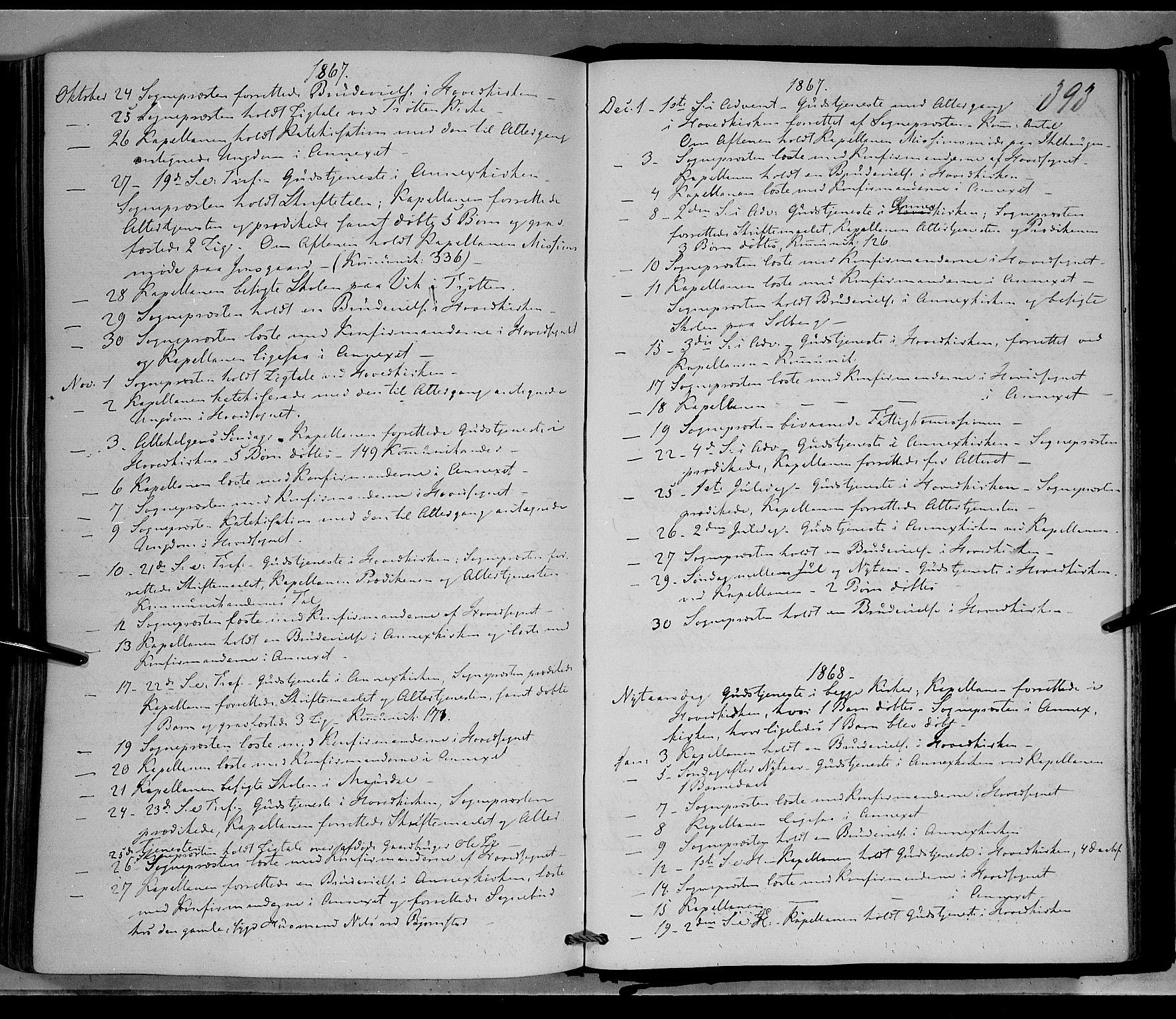 SAH, Øyer prestekontor, Ministerialbok nr. 6, 1858-1874, s. 393