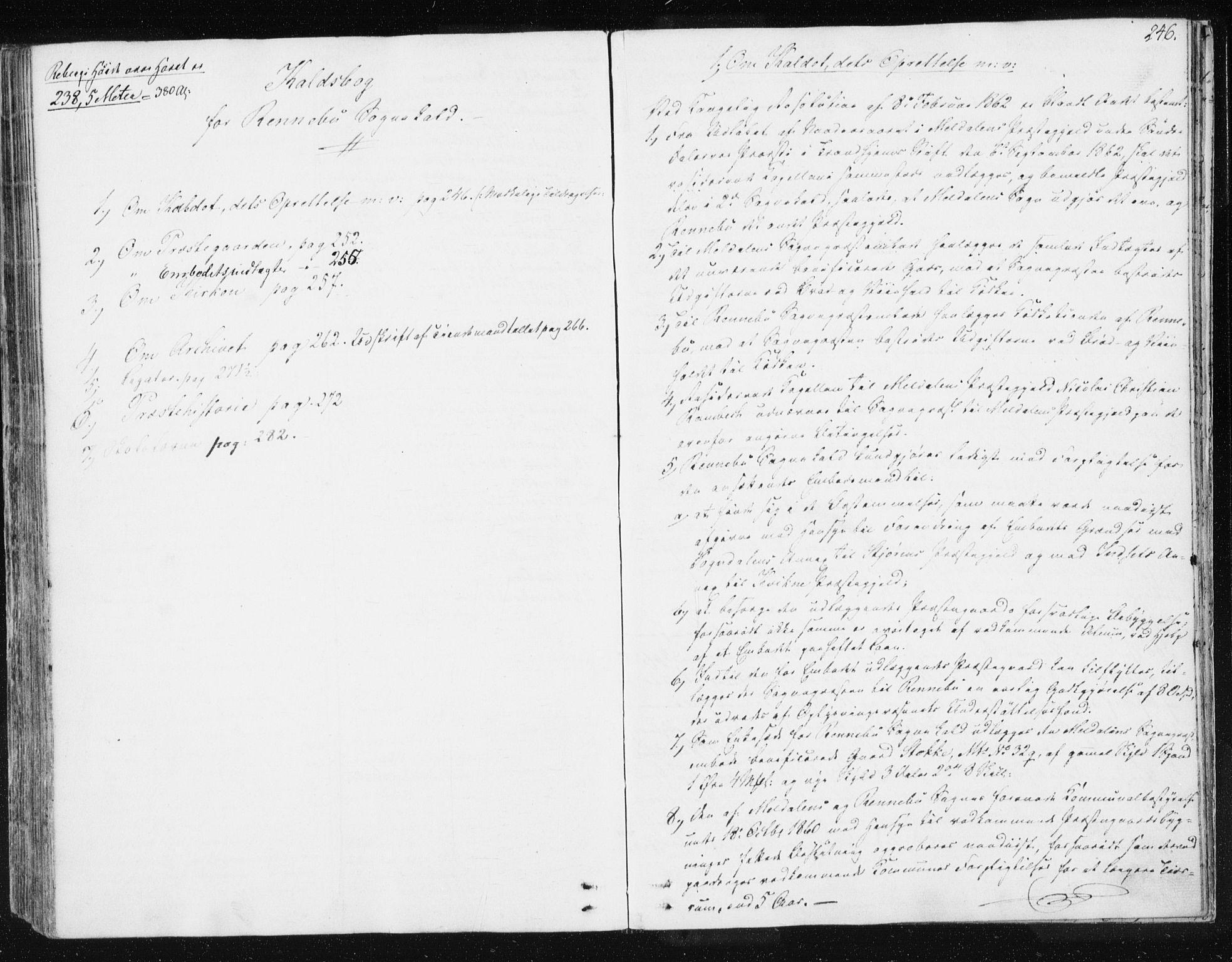 SAT, Ministerialprotokoller, klokkerbøker og fødselsregistre - Sør-Trøndelag, 674/L0869: Ministerialbok nr. 674A01, 1829-1860, s. 246