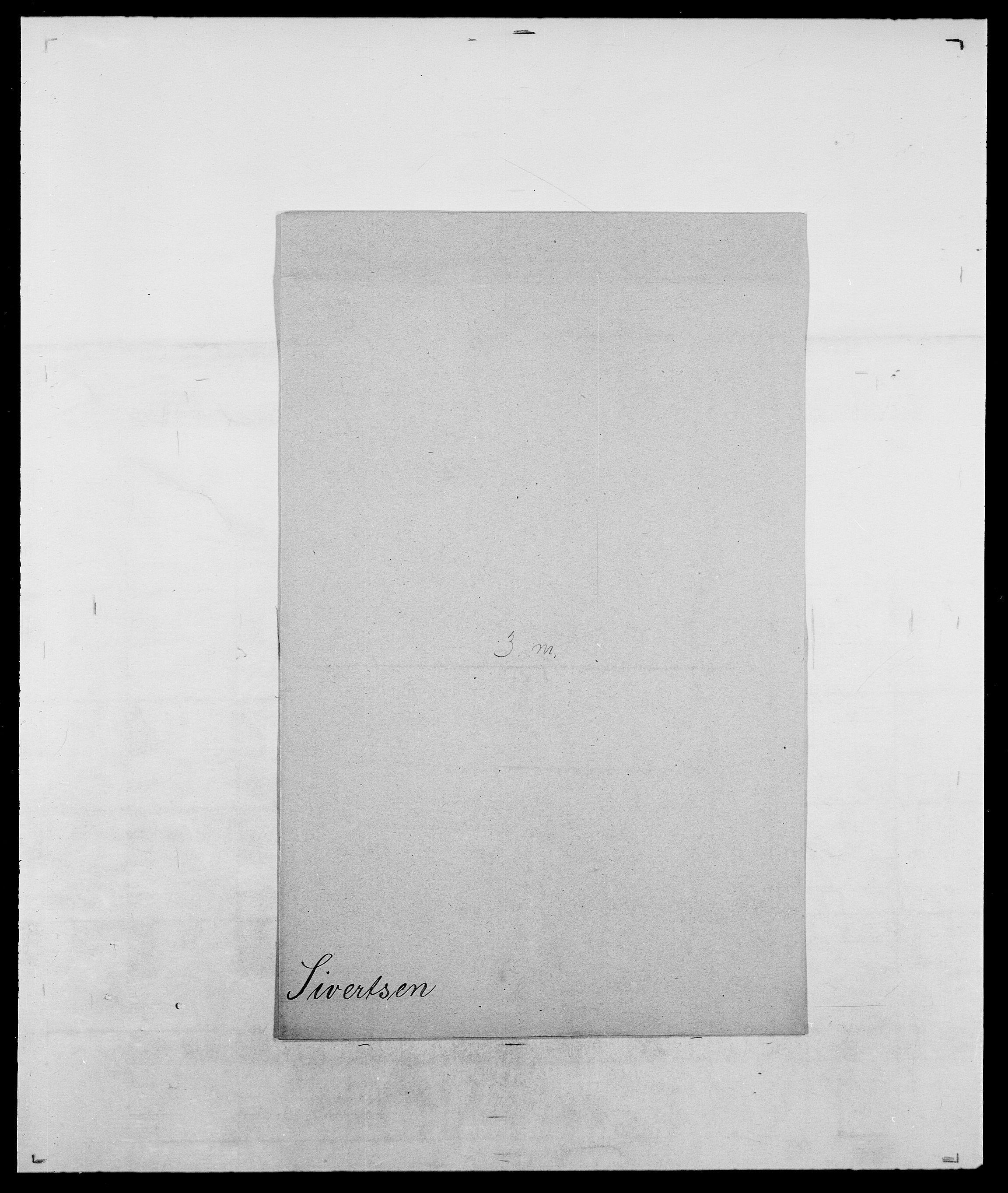 SAO, Delgobe, Charles Antoine - samling, D/Da/L0035: Schnabel - sjetman, s. 989