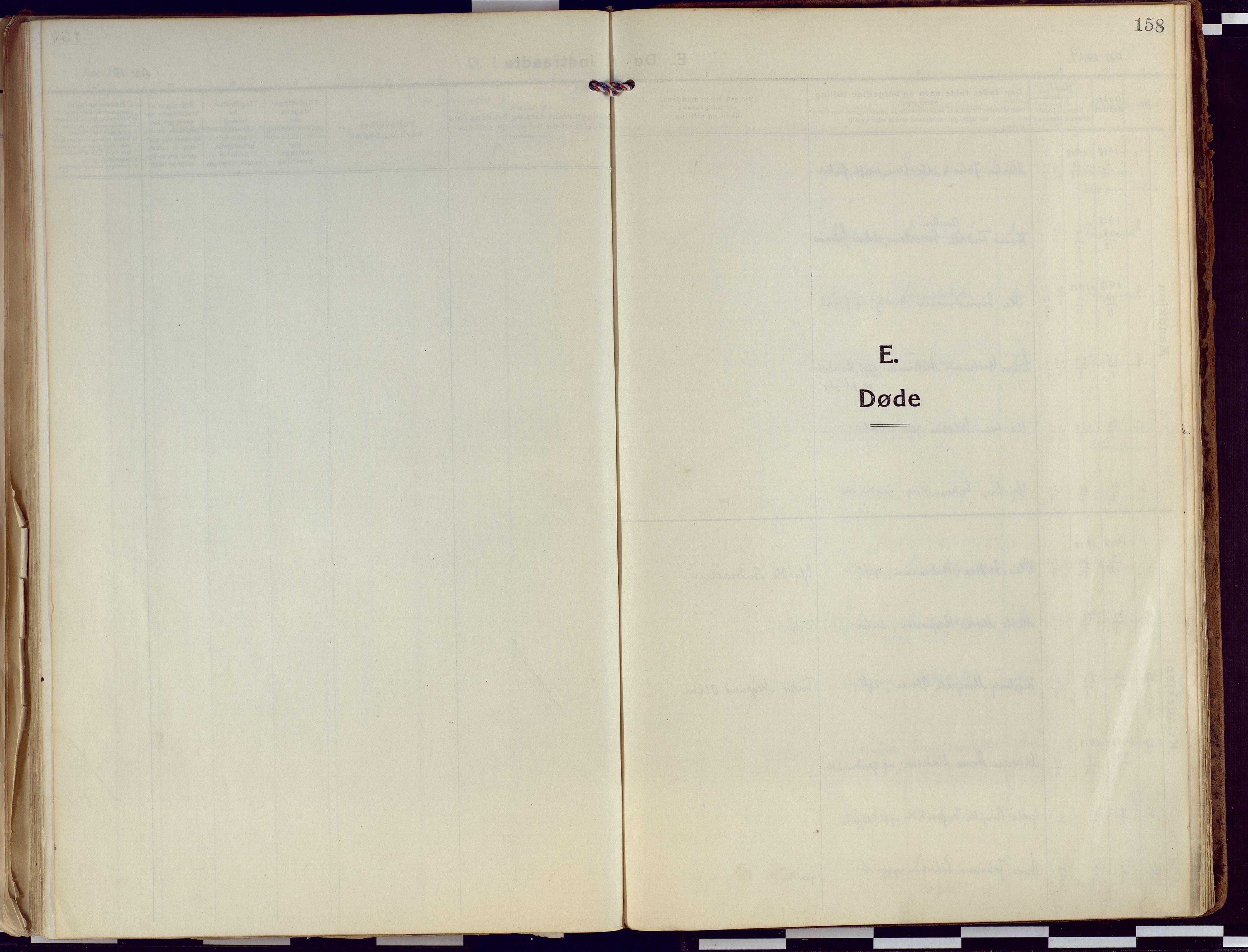 SATØ, Tranøy sokneprestkontor, I/Ia/Iaa/L0015kirke: Ministerialbok nr. 15, 1919-1928, s. 158
