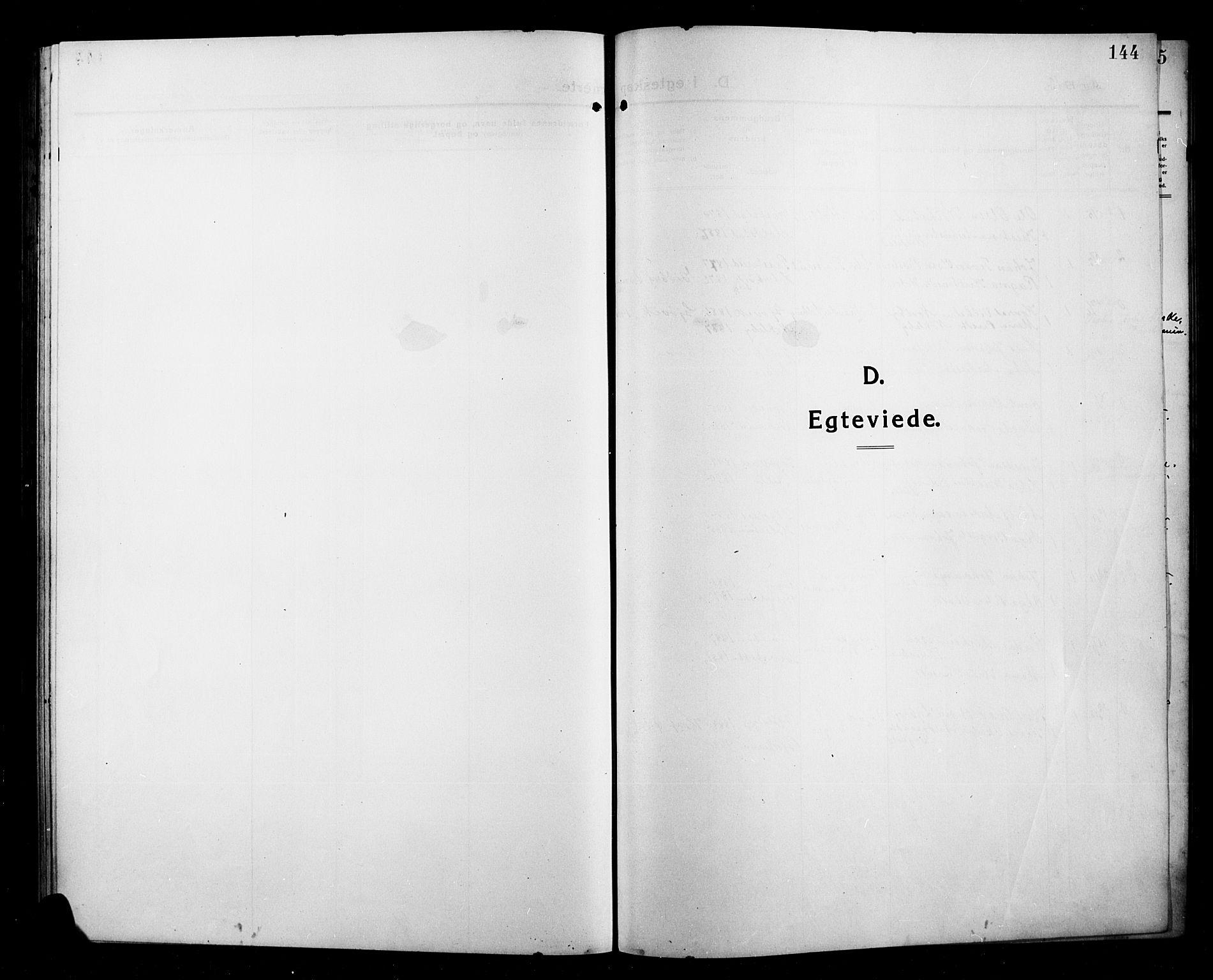 SAH, Kolbu prestekontor, Klokkerbok nr. 1, 1912-1925, s. 144