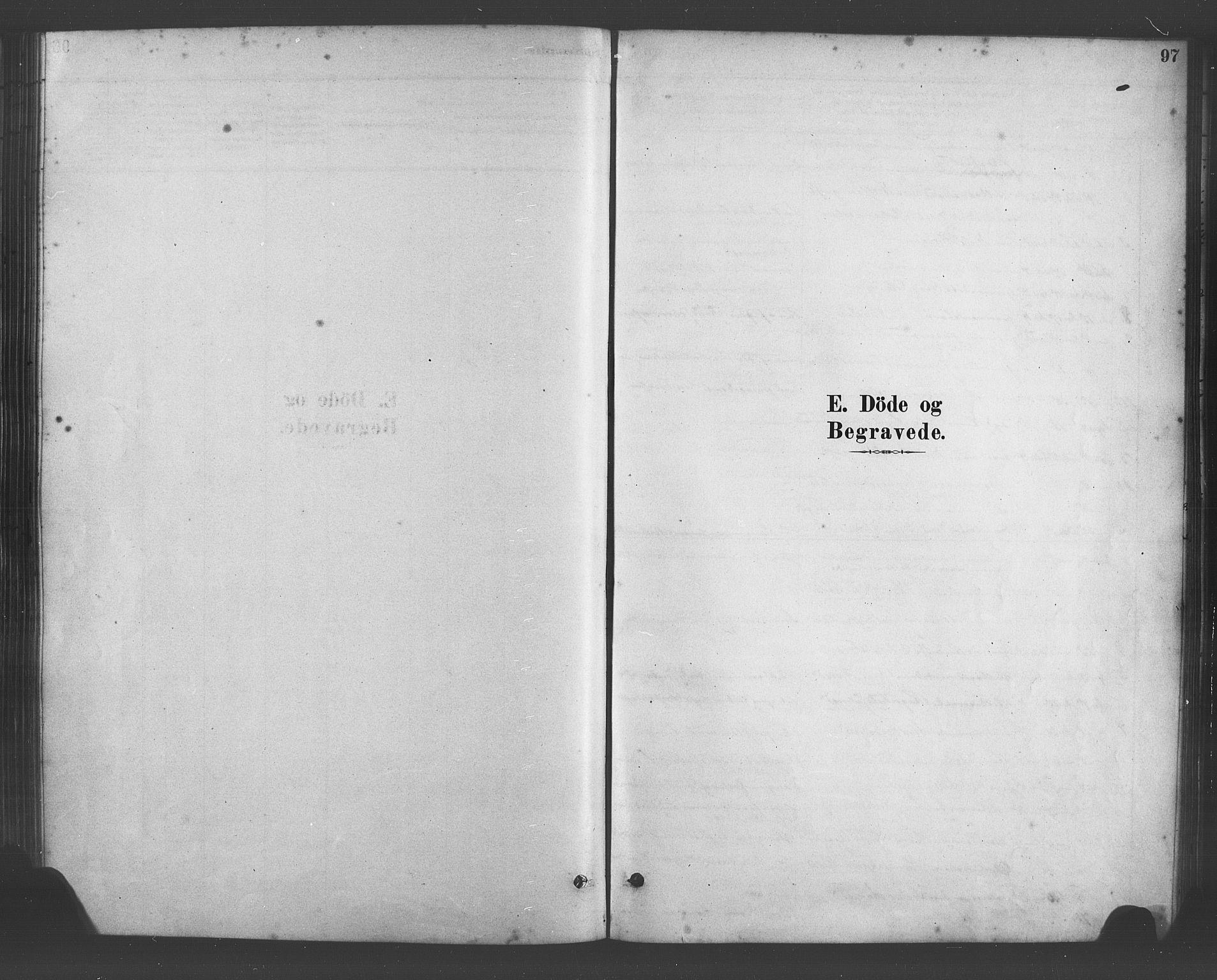 SAB, Fana Sokneprestembete, H/Haa/Haab/L0001: Ministerialbok nr. B 1, 1878-1889, s. 97