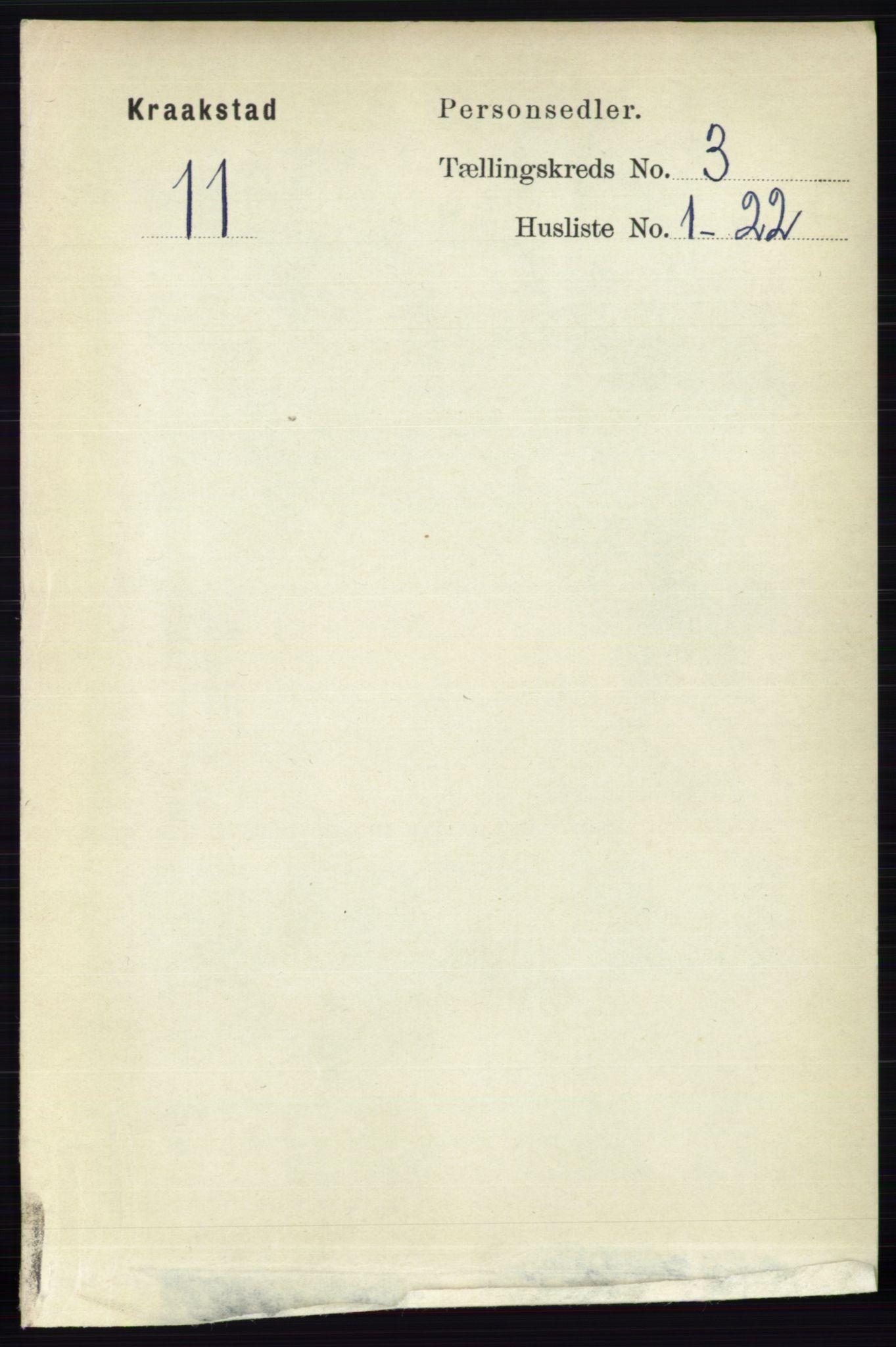 RA, Folketelling 1891 for 0212 Kråkstad herred, 1891, s. 1194