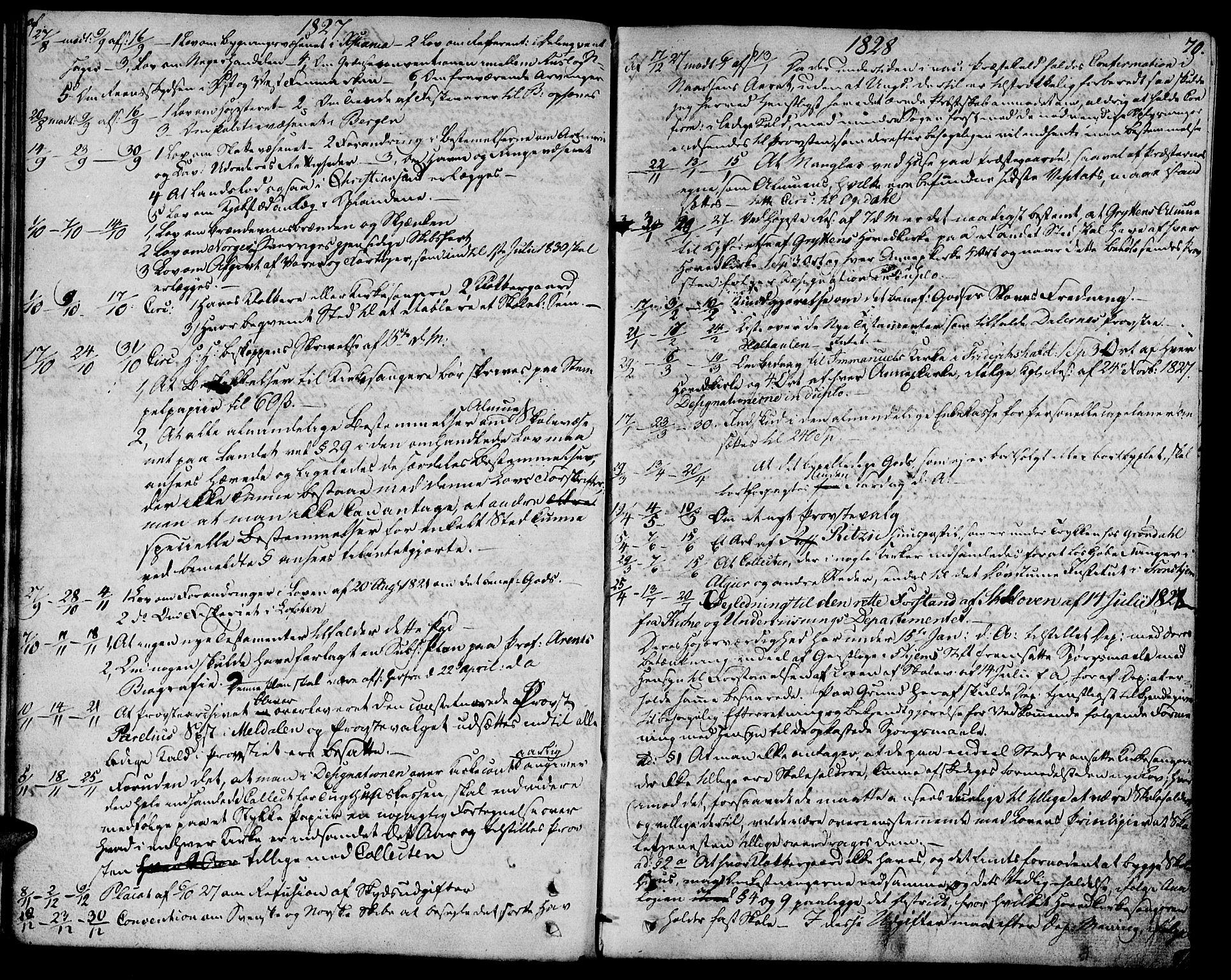 SAT, Ministerialprotokoller, klokkerbøker og fødselsregistre - Sør-Trøndelag, 685/L0953: Ministerialbok nr. 685A02, 1805-1816, s. 70