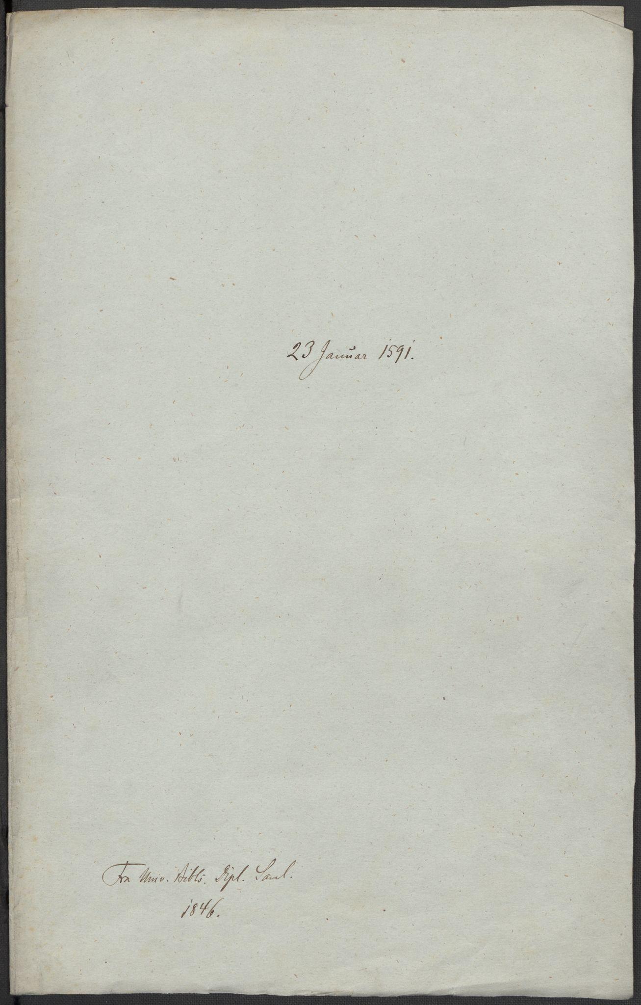 RA, Riksarkivets diplomsamling, F02/L0093: Dokumenter, 1591, s. 16