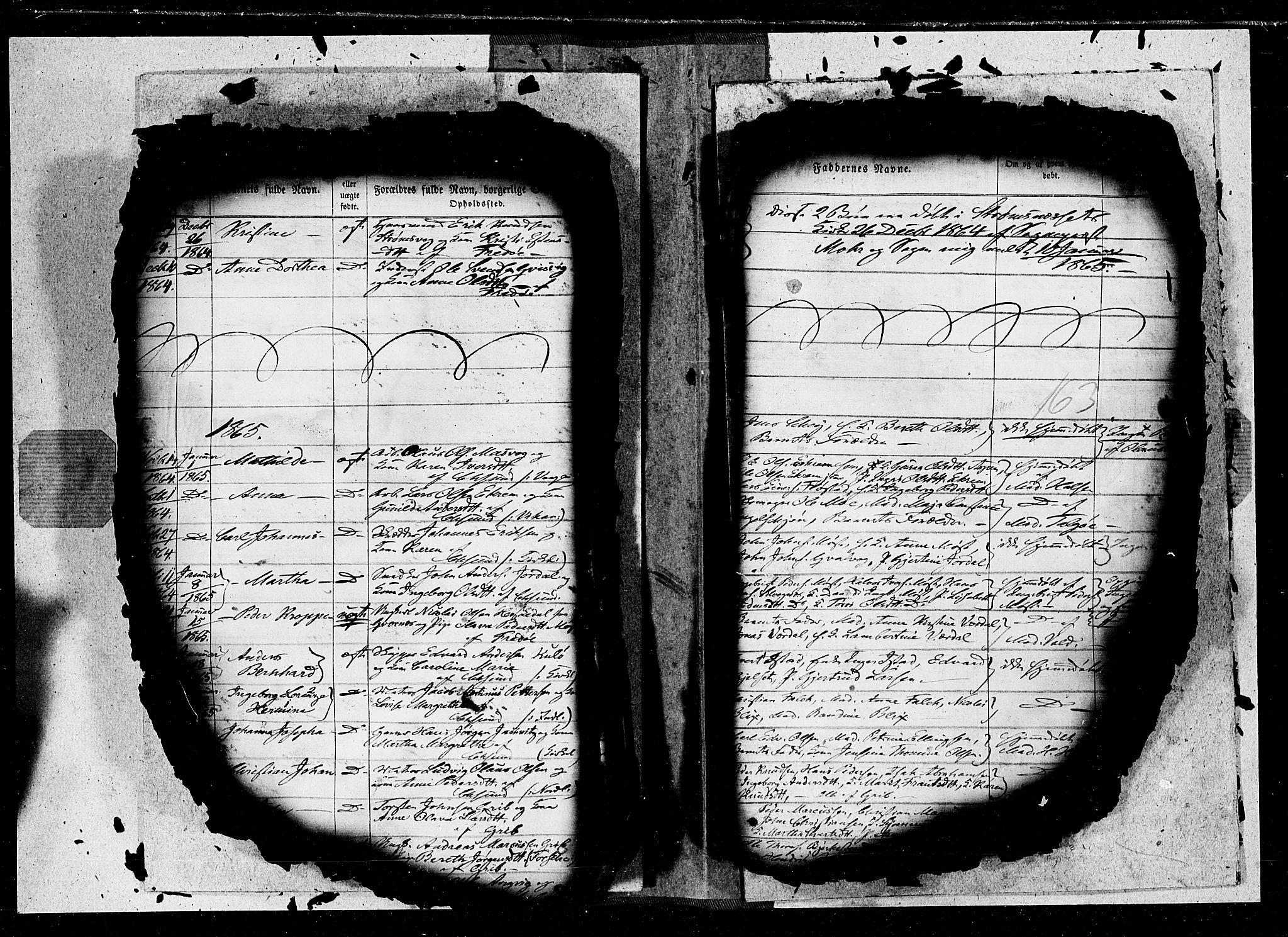 SAT, Ministerialprotokoller, klokkerbøker og fødselsregistre - Møre og Romsdal, 572/L0846: Ministerialbok nr. 572A09, 1855-1865, s. 163