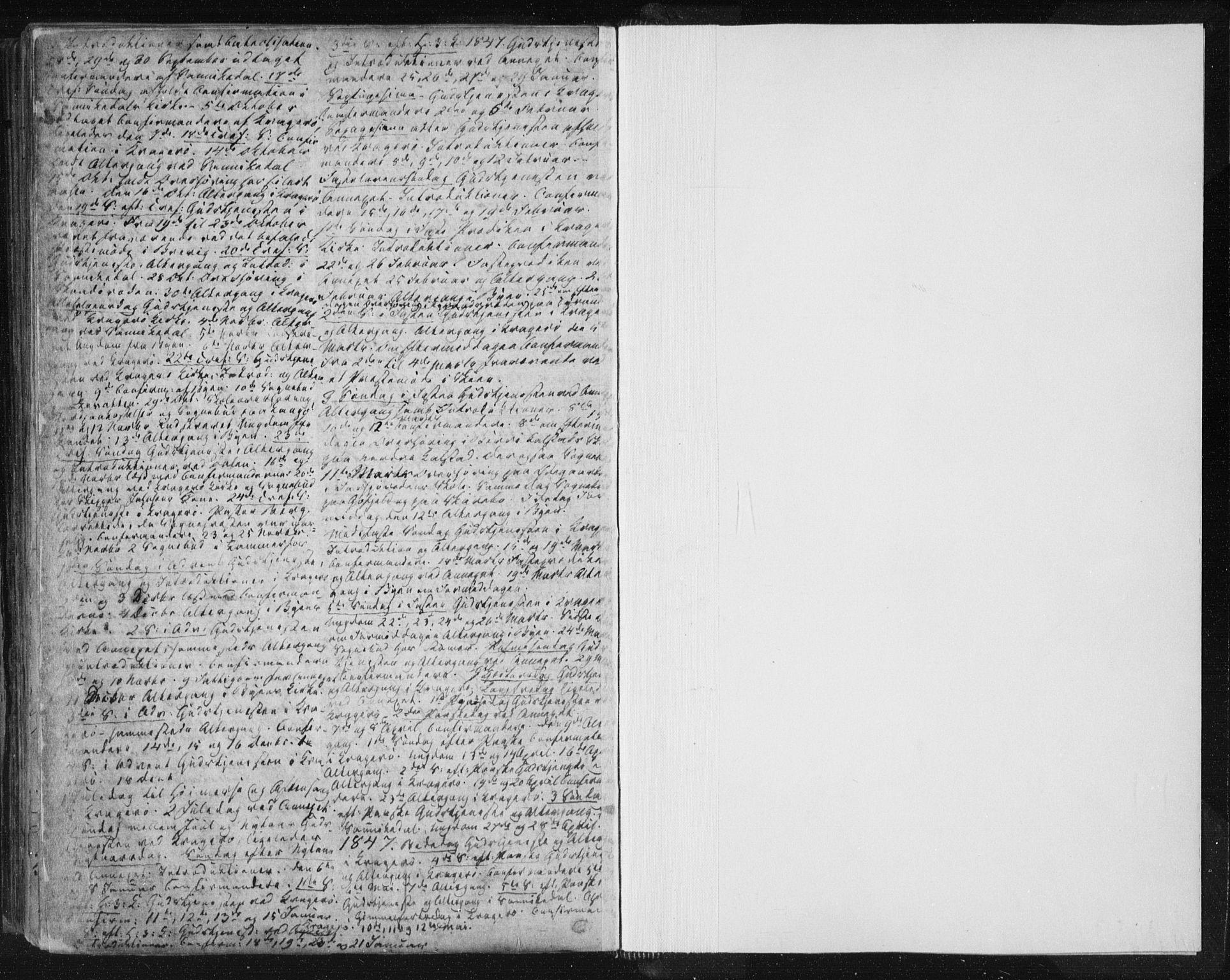 SAKO, Kragerø kirkebøker, F/Fa/L0005: Ministerialbok nr. 5, 1832-1847, s. 284