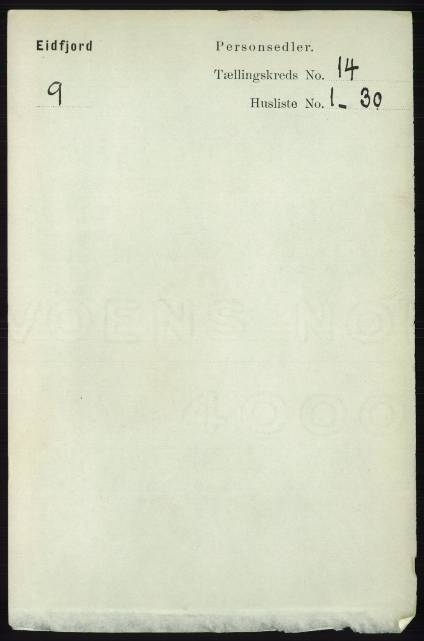 RA, Folketelling 1891 for 1233 Ulvik herred, 1891, s. 4274