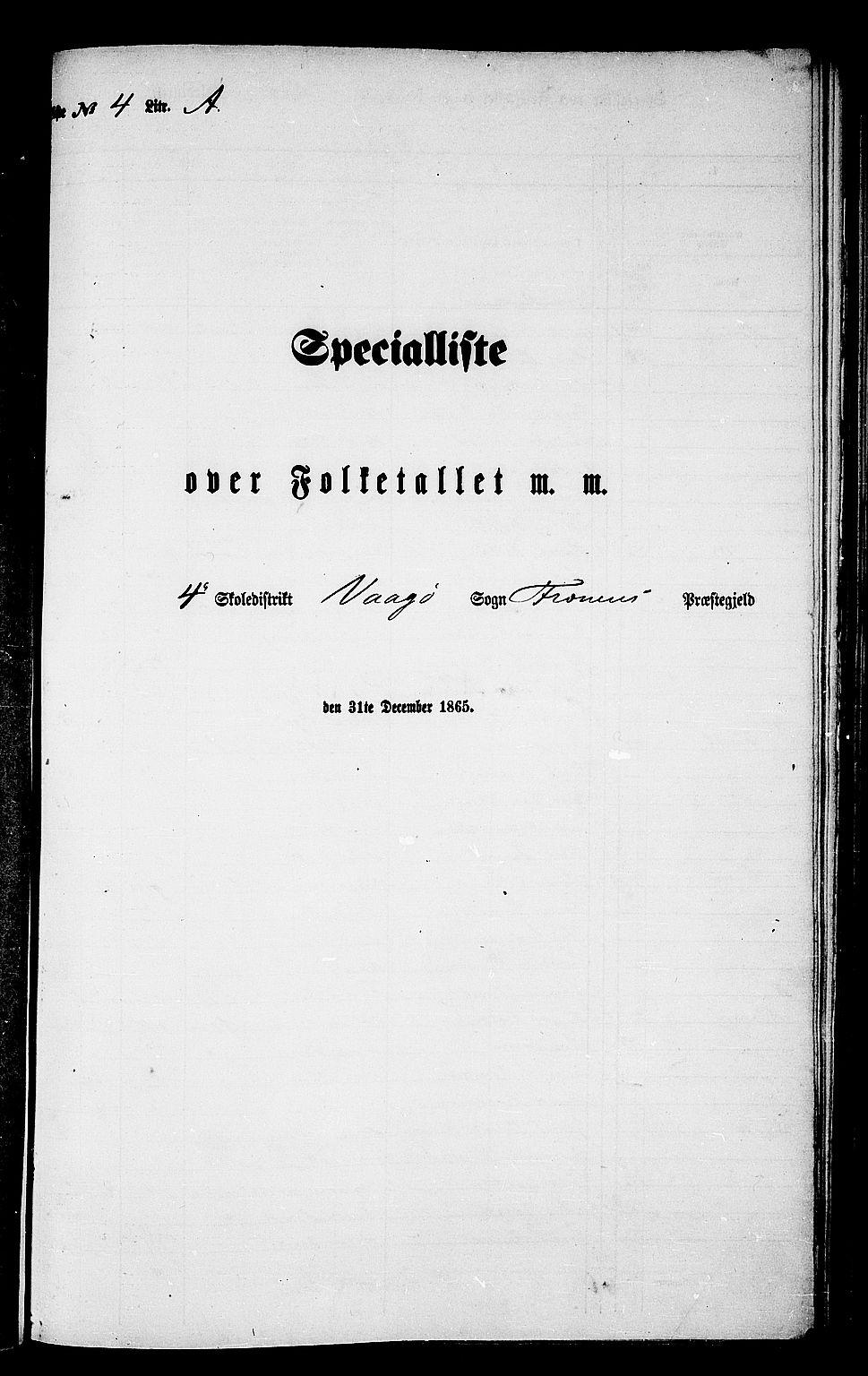 RA, Folketelling 1865 for 1548P Fræna prestegjeld, 1865, s. 52