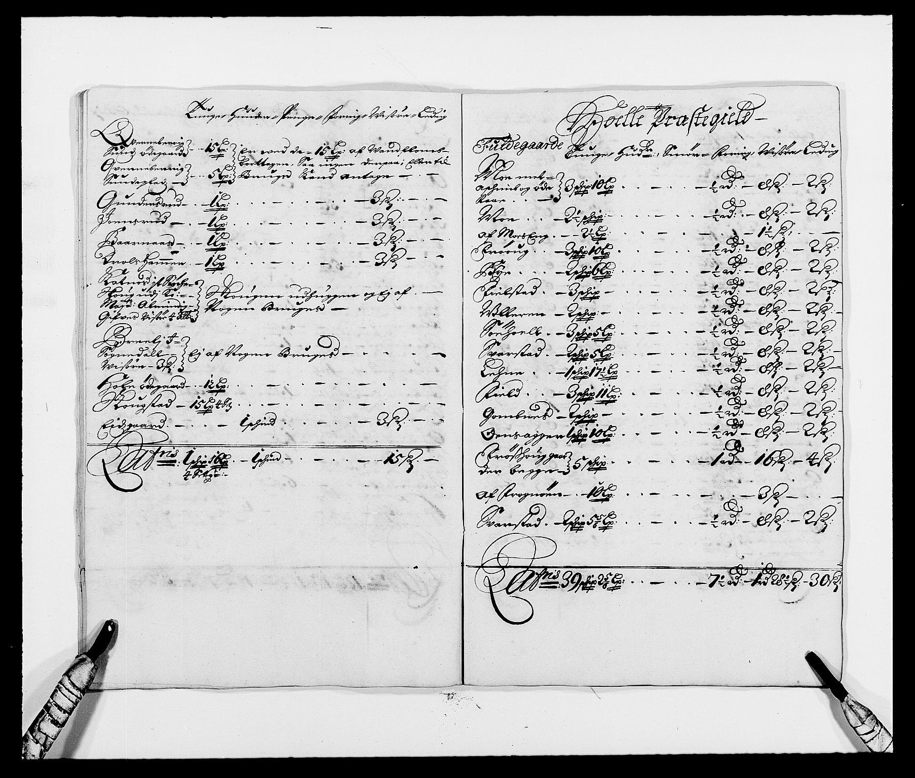 RA, Rentekammeret inntil 1814, Reviderte regnskaper, Fogderegnskap, R21/L1447: Fogderegnskap Ringerike og Hallingdal, 1687-1689, s. 280