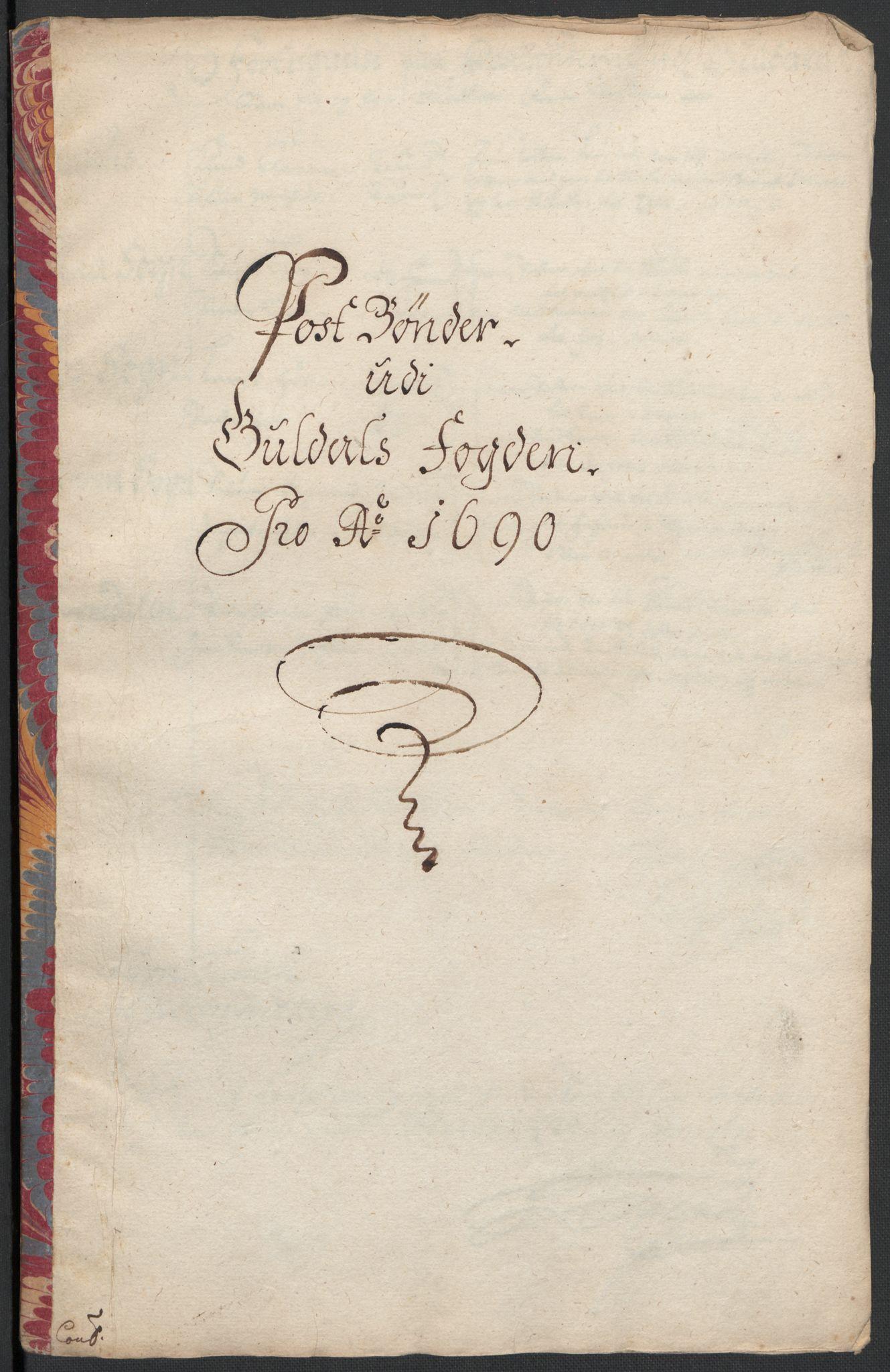 RA, Rentekammeret inntil 1814, Reviderte regnskaper, Fogderegnskap, R59/L3940: Fogderegnskap Gauldal, 1689-1690, s. 400