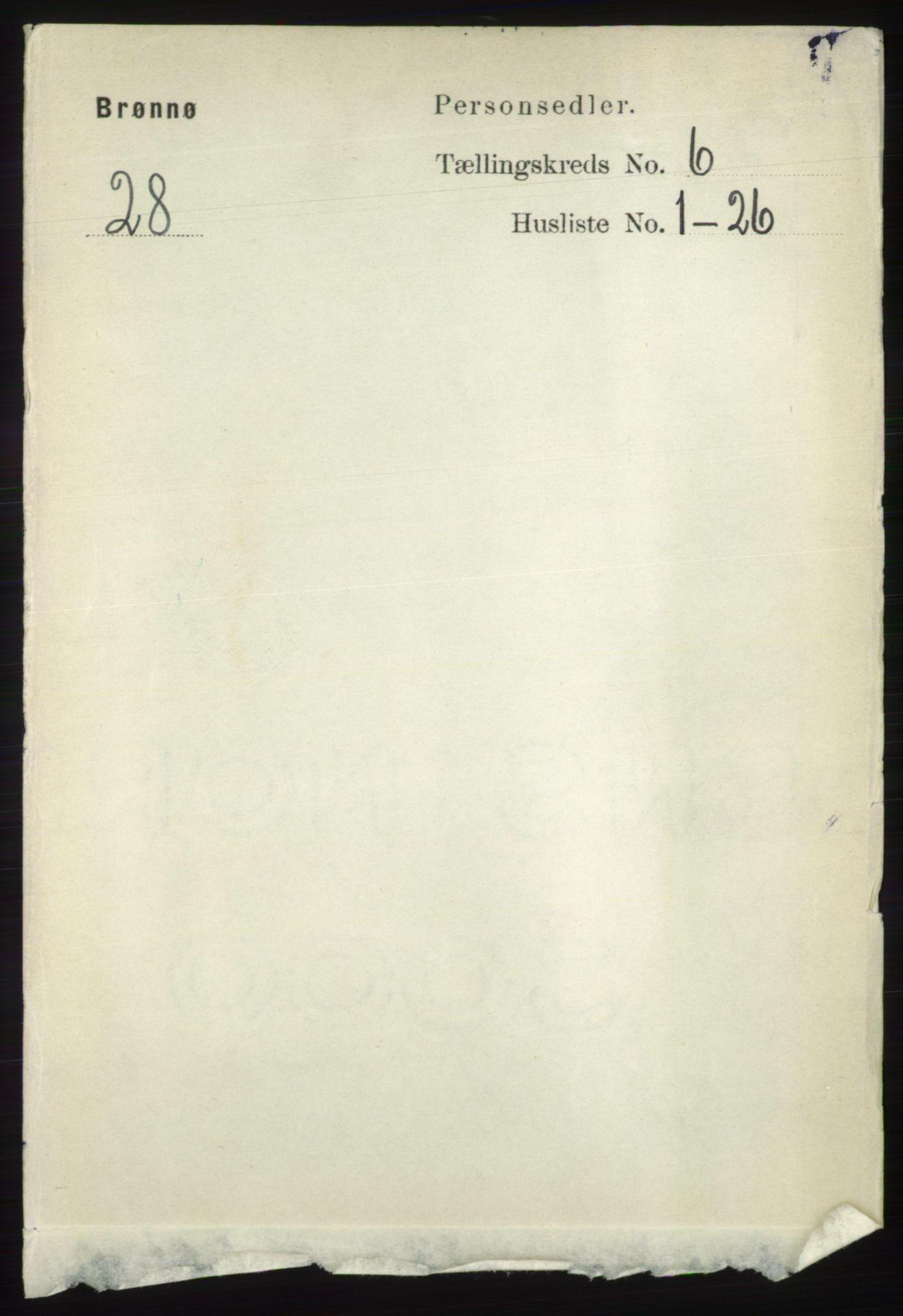 RA, Folketelling 1891 for 1814 Brønnøy herred, 1891, s. 3252