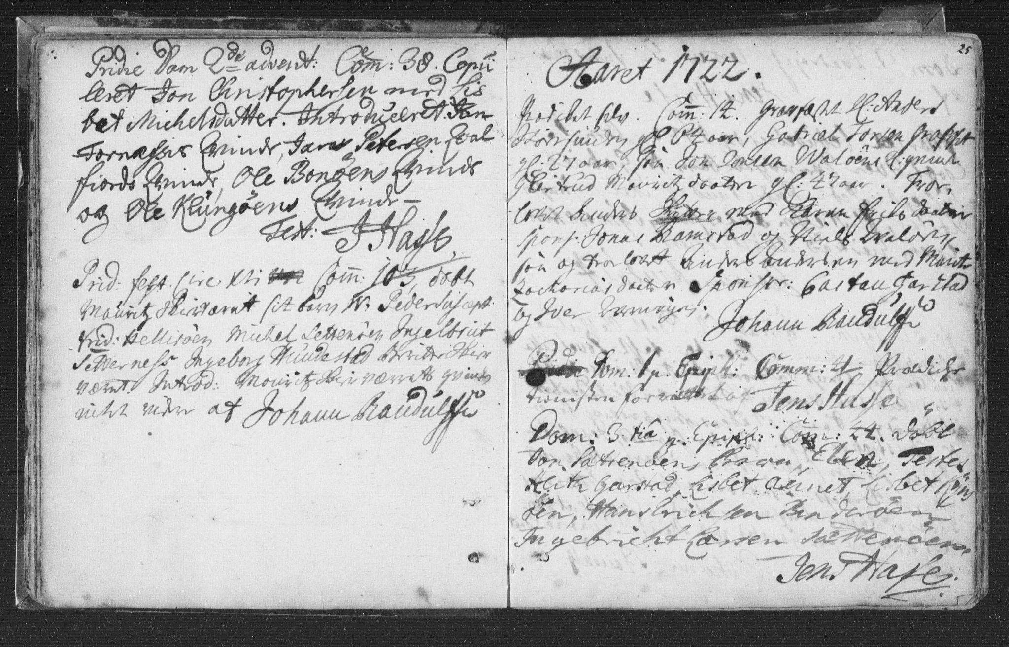 SAT, Ministerialprotokoller, klokkerbøker og fødselsregistre - Nord-Trøndelag, 786/L0685: Ministerialbok nr. 786A01, 1710-1798, s. 25