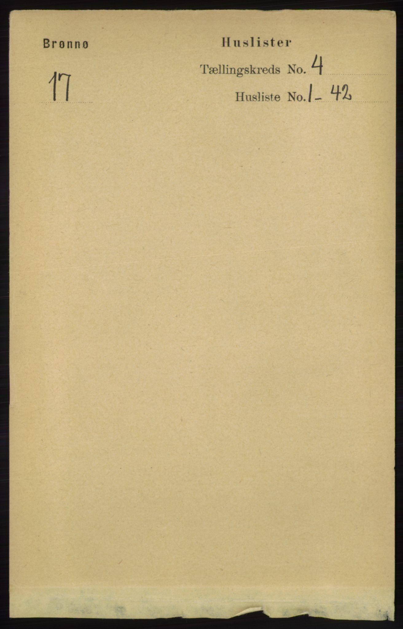 RA, Folketelling 1891 for 1814 Brønnøy herred, 1891, s. 1968