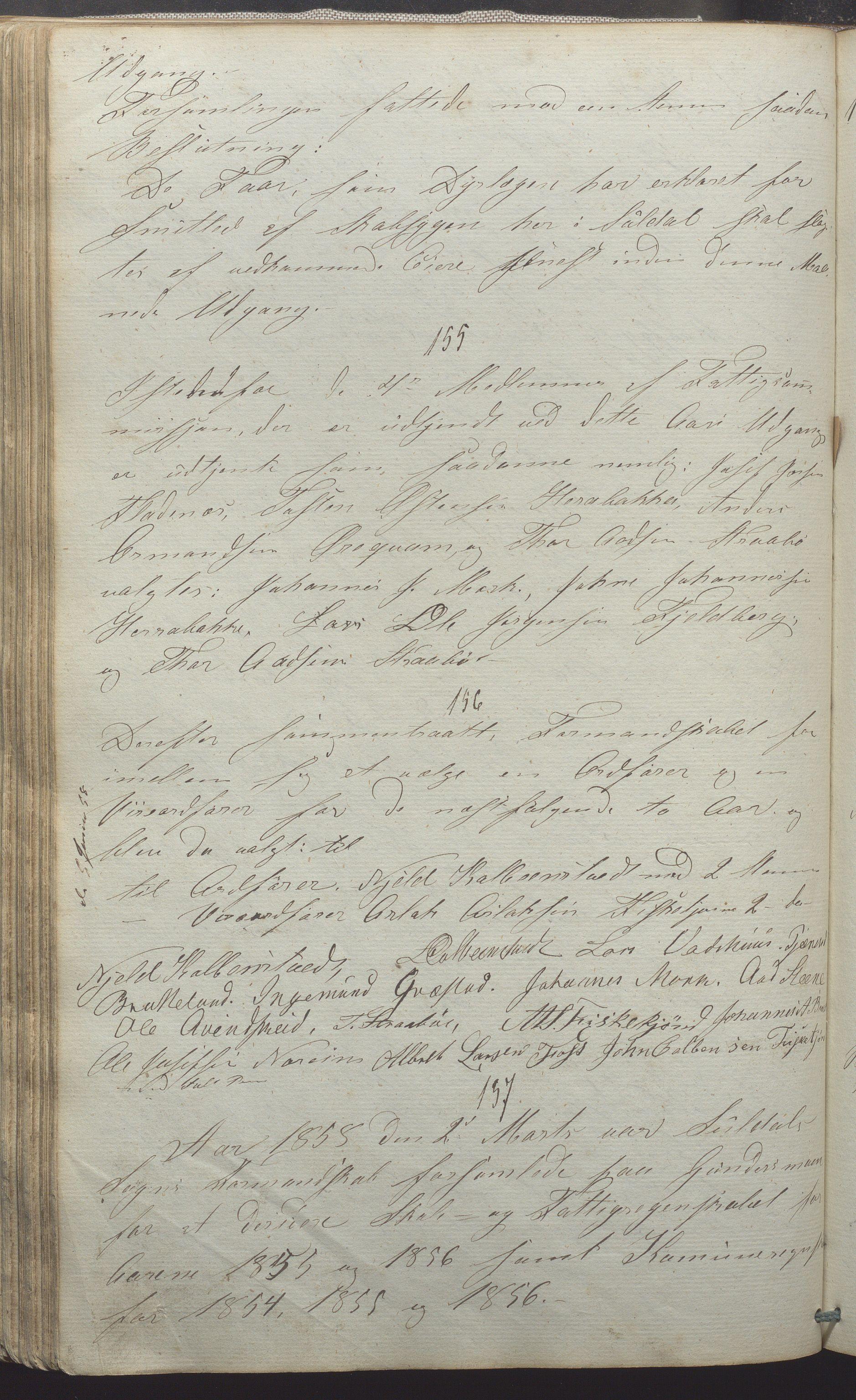 IKAR, Suldal kommune - Formannskapet/Rådmannen, A/Aa/L0001: Møtebok, 1837-1876, s. 126b