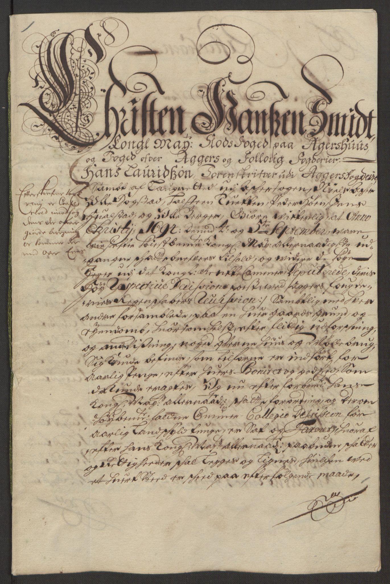 RA, Rentekammeret inntil 1814, Reviderte regnskaper, Fogderegnskap, R10/L0438: Fogderegnskap Aker og Follo, 1694, s. 138
