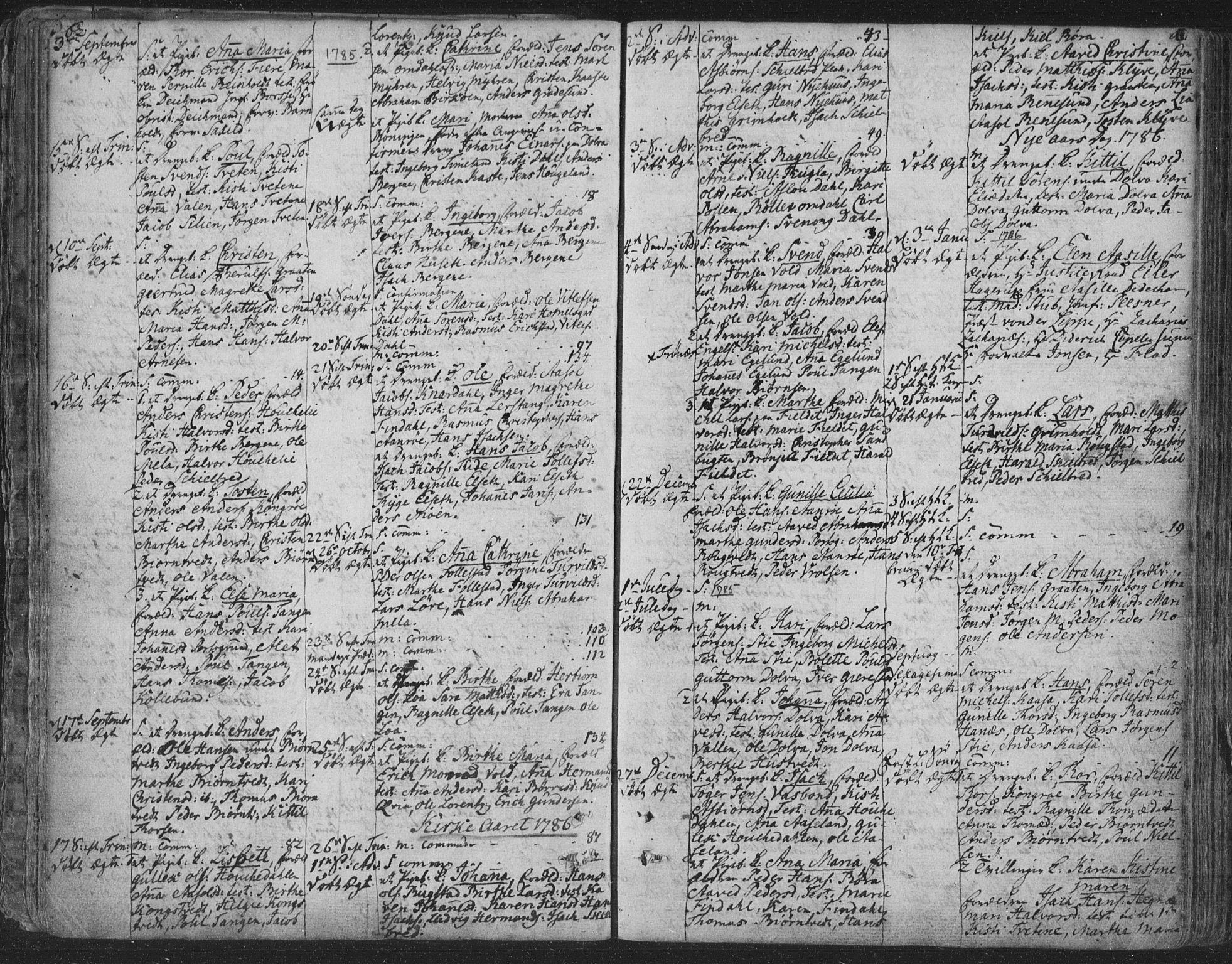 SAKO, Solum kirkebøker, F/Fa/L0003: Ministerialbok nr. I 3, 1761-1814, s. 62-63