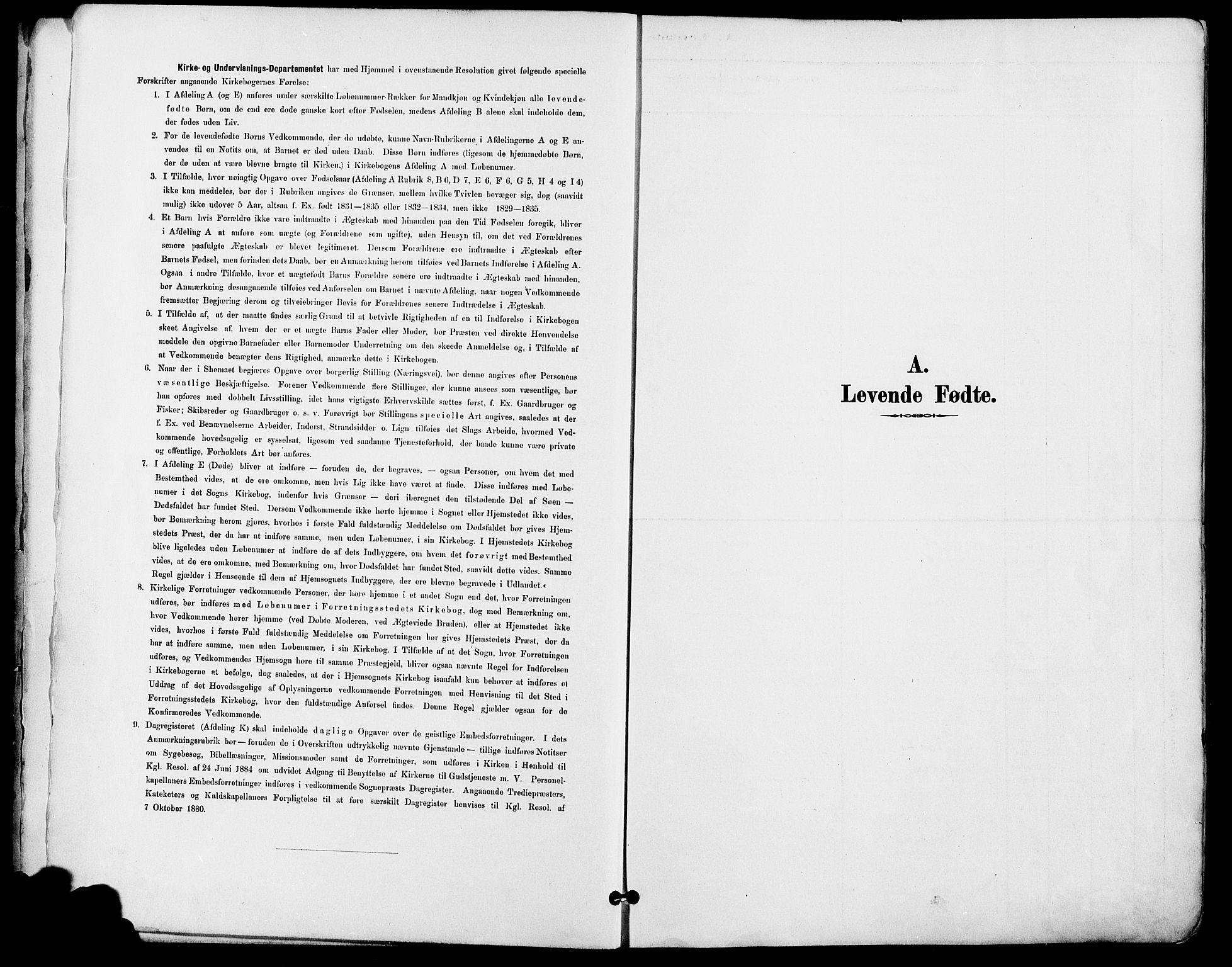 SAO, Gamle Aker prestekontor Kirkebøker, F/L0008: Ministerialbok nr. 8, 1887-1896