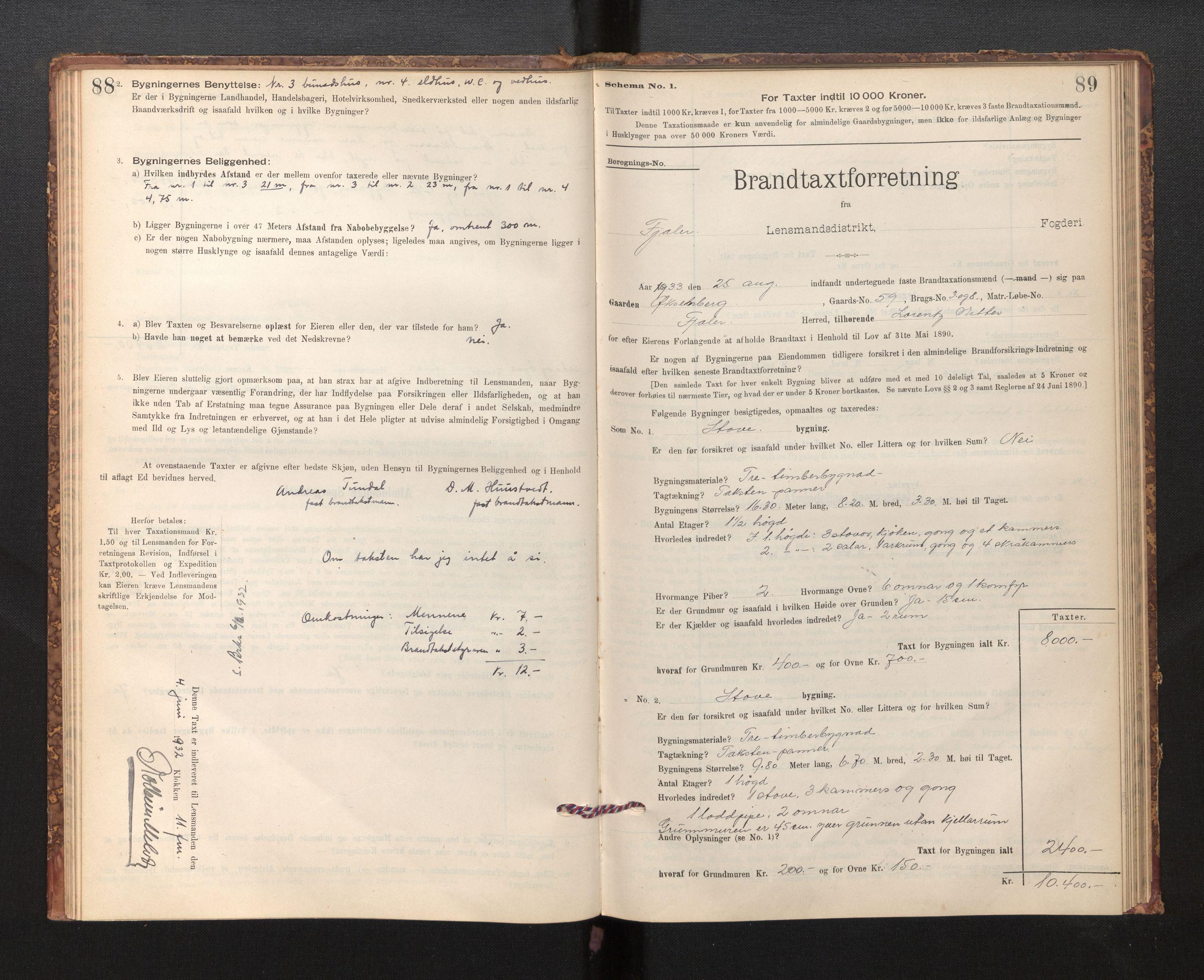 SAB, Lensmannen i Fjaler, 0012, 1895-1937, s. 88-89
