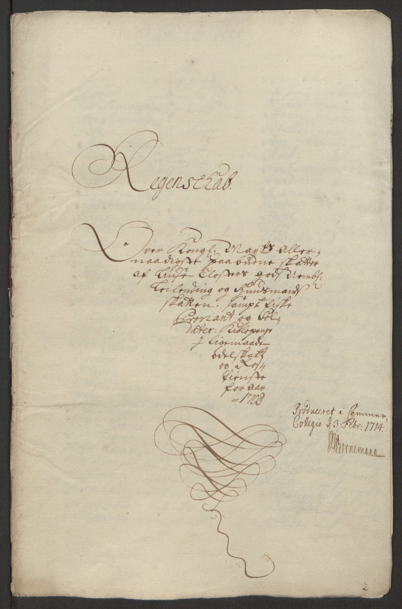 RA, Rentekammeret inntil 1814, Reviderte regnskaper, Fogderegnskap, R50/L3159: Fogderegnskap Lyse kloster, 1691-1709, s. 276