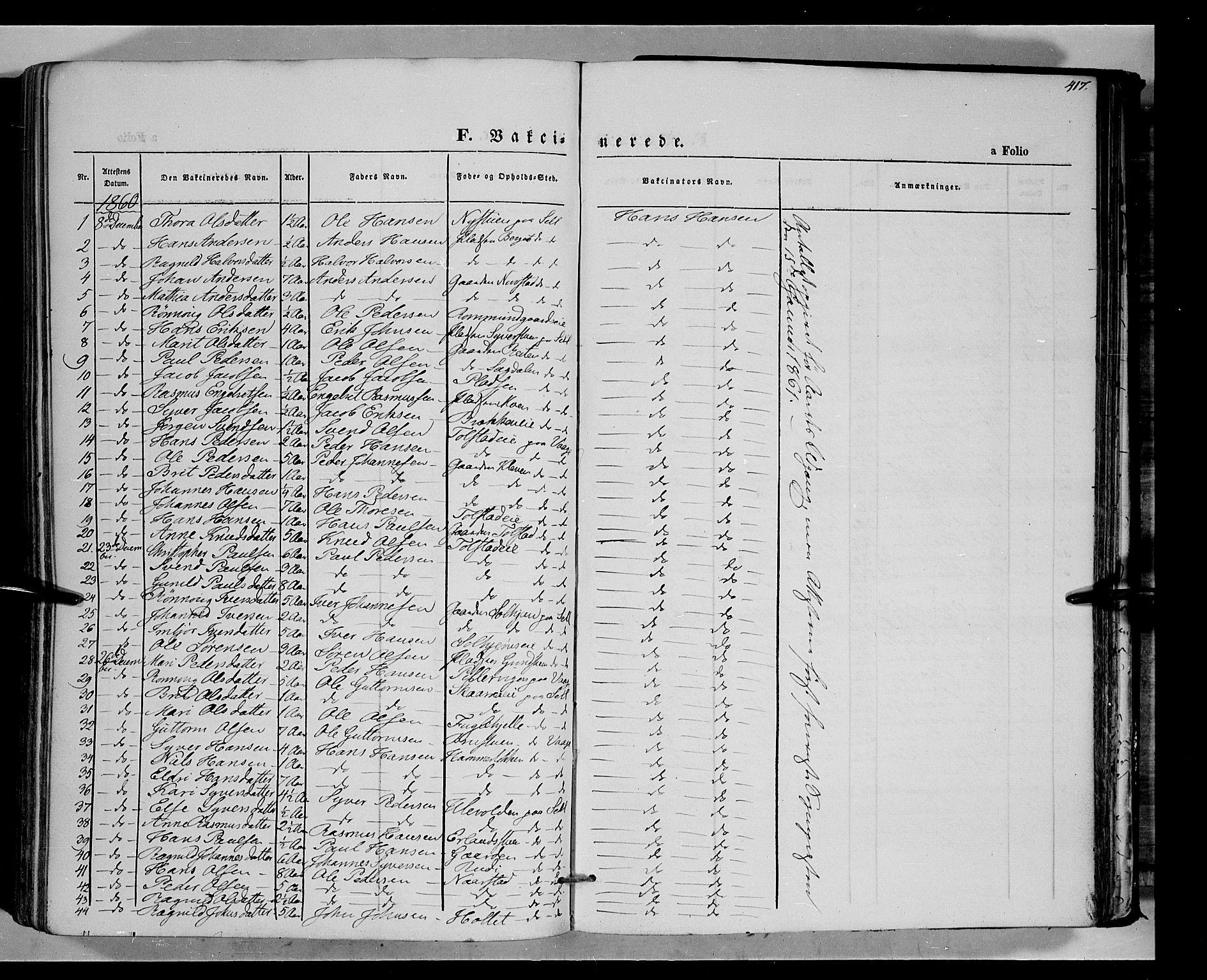 SAH, Vågå prestekontor, Ministerialbok nr. 6 /1, 1856-1872, s. 417