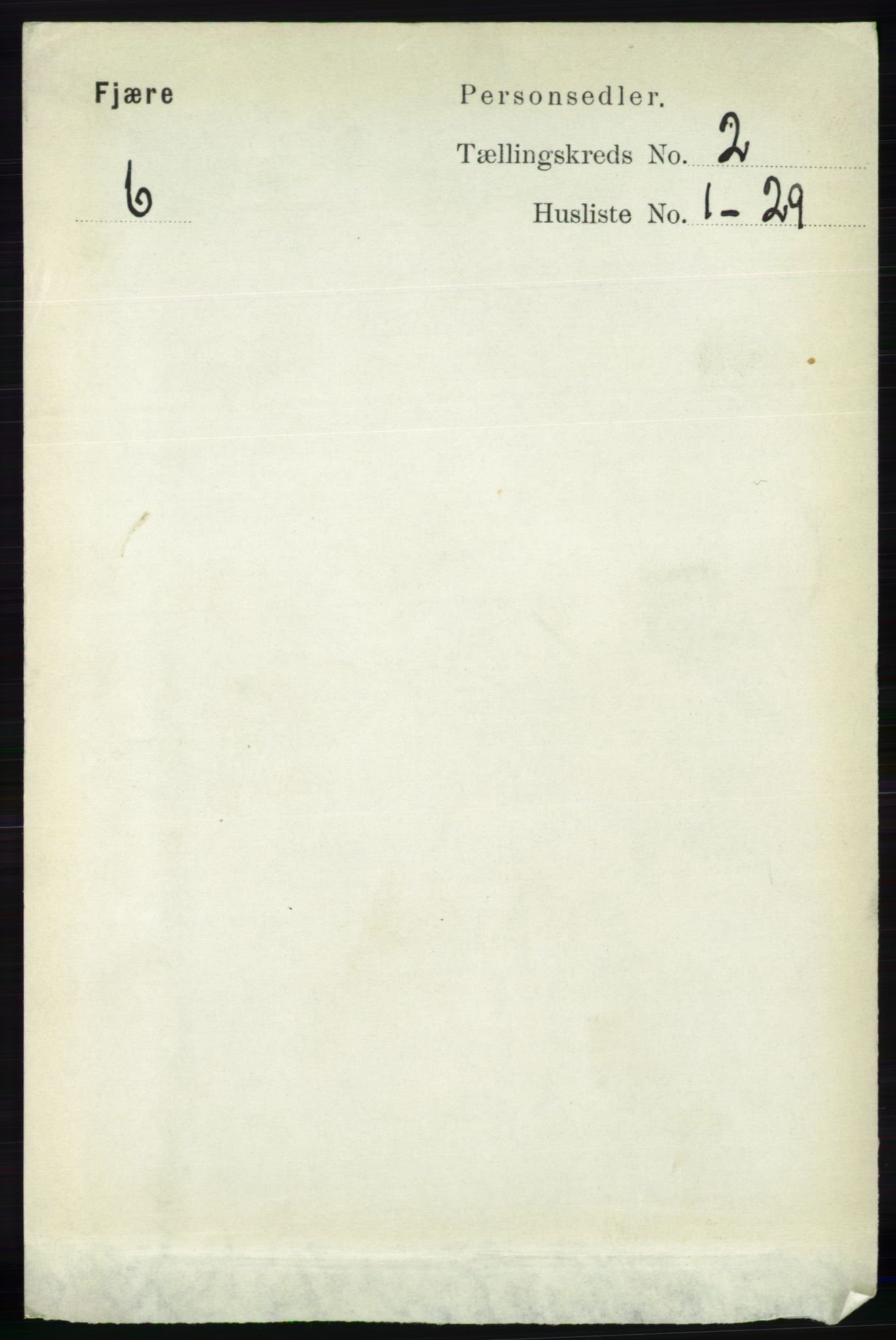 RA, Folketelling 1891 for 0923 Fjære herred, 1891, s. 737