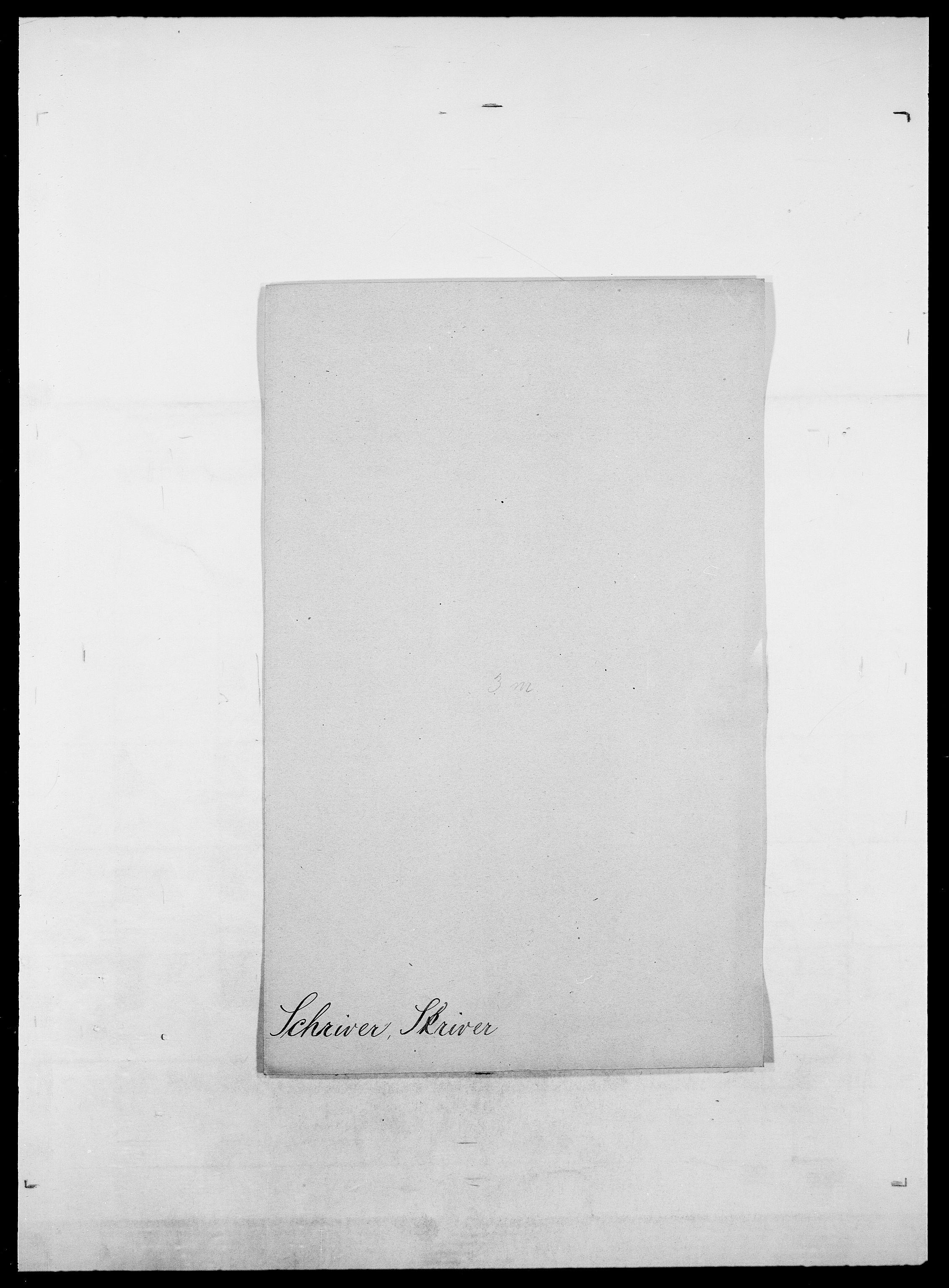 SAO, Delgobe, Charles Antoine - samling, D/Da/L0035: Schnabel - sjetman, s. 170