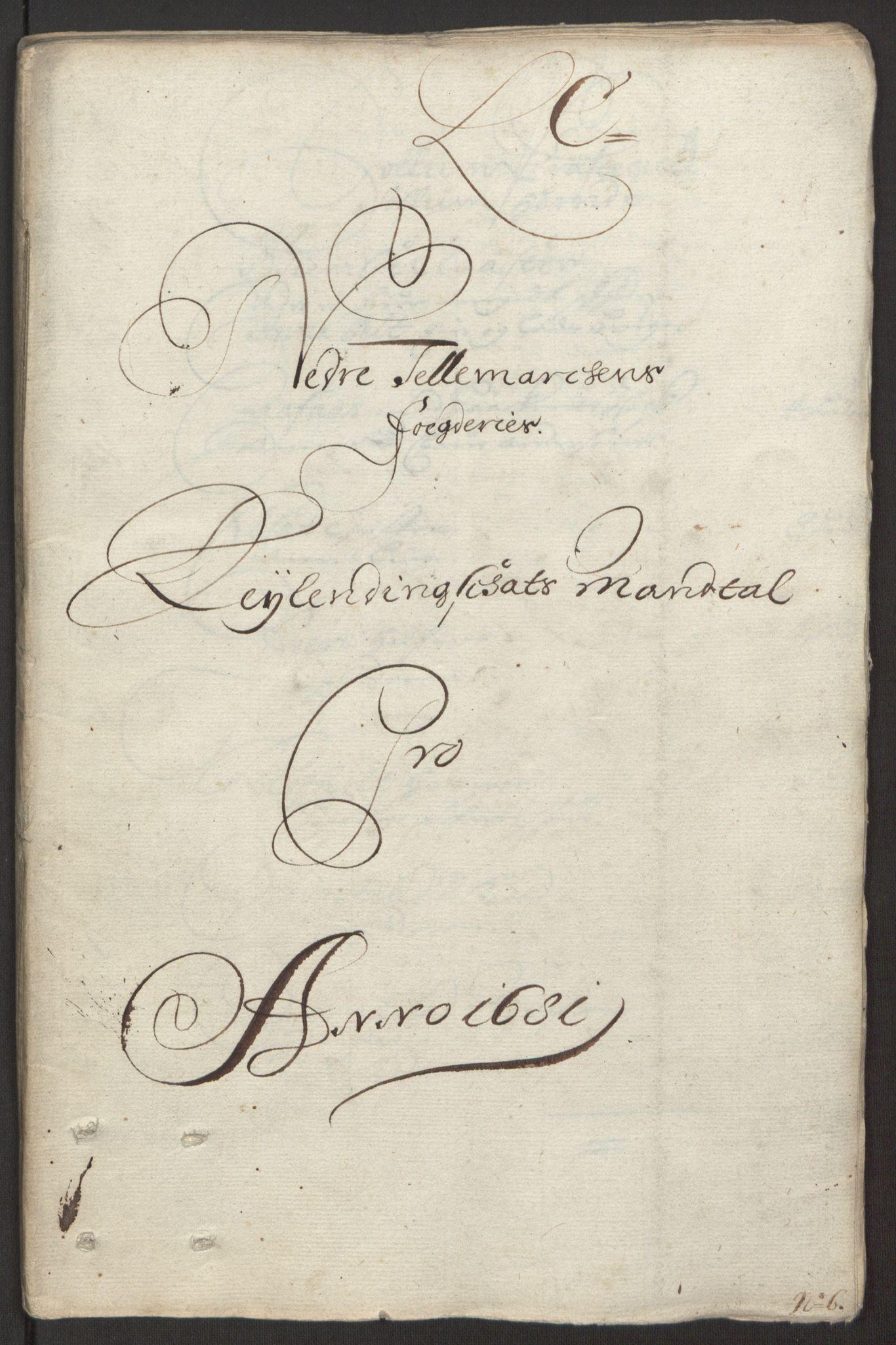 RA, Rentekammeret inntil 1814, Reviderte regnskaper, Fogderegnskap, R35/L2077: Fogderegnskap Øvre og Nedre Telemark, 1680-1684, s. 62