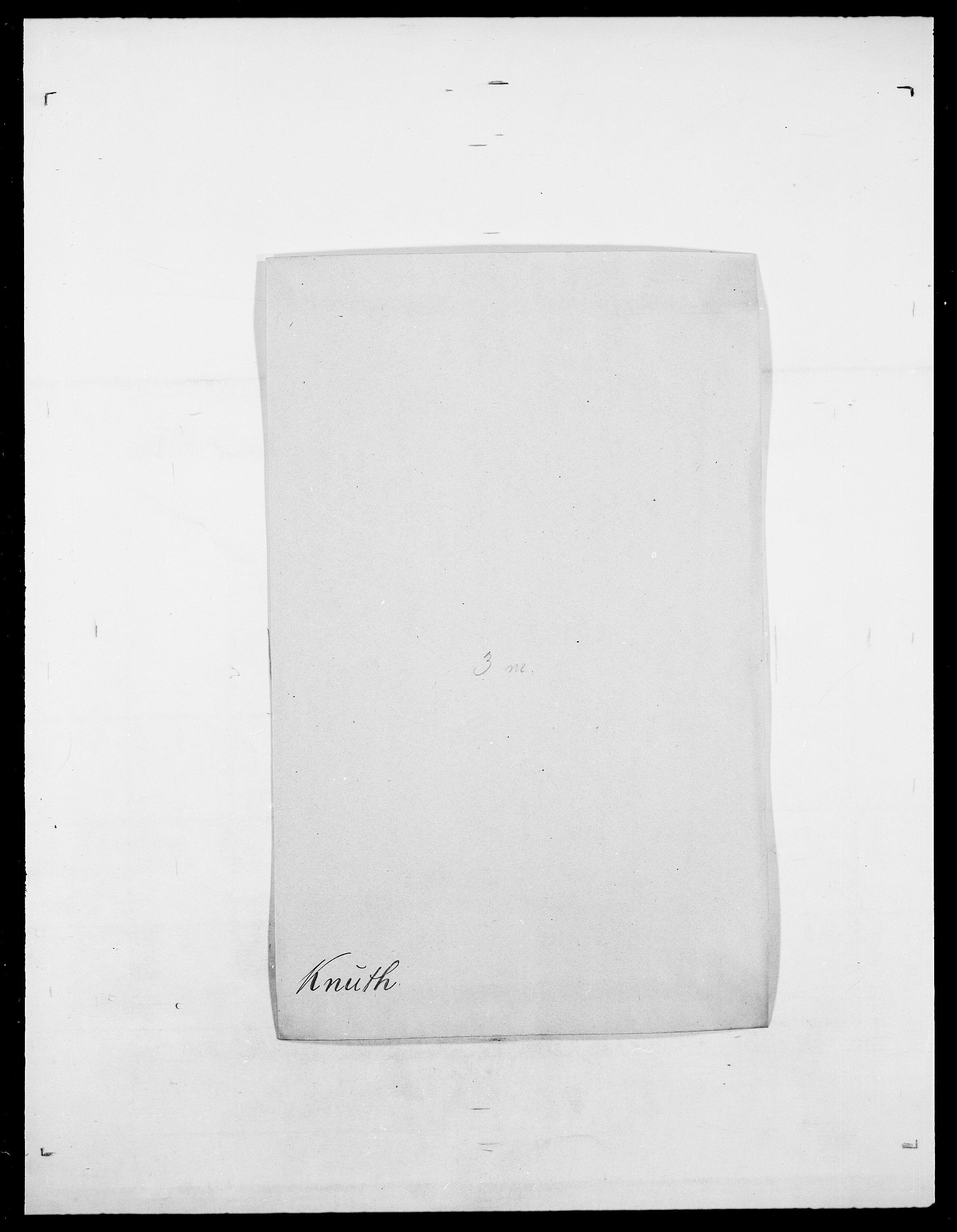 SAO, Delgobe, Charles Antoine - samling, D/Da/L0021: Klagenberg - Kristoft, s. 393