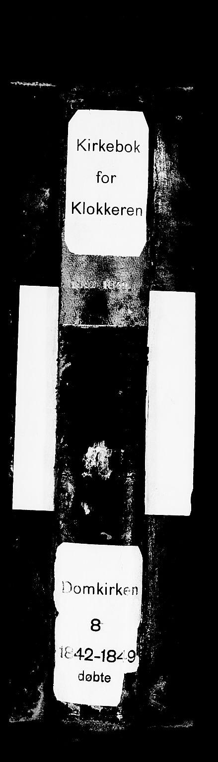 SAB, Domkirken sokneprestembete, H/Hab/L0009: Klokkerbok nr. B 2, 1842-1849