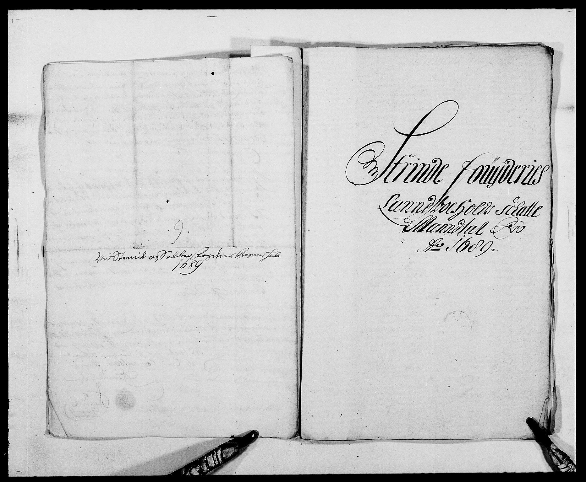 RA, Rentekammeret inntil 1814, Reviderte regnskaper, Fogderegnskap, R61/L4102: Fogderegnskap Strinda og Selbu, 1689-1690, s. 59