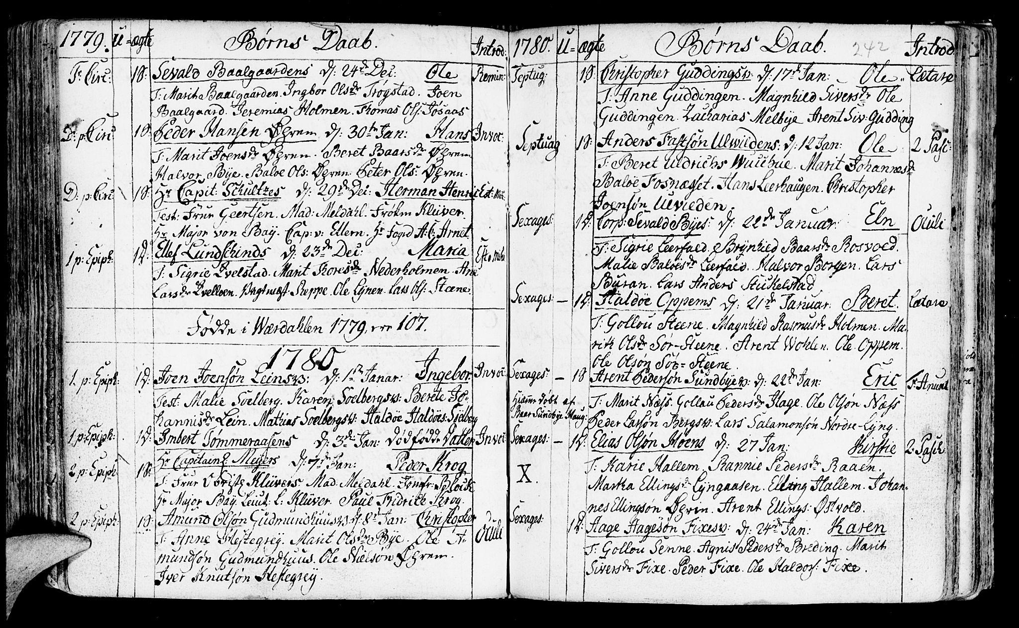 SAT, Ministerialprotokoller, klokkerbøker og fødselsregistre - Nord-Trøndelag, 723/L0231: Ministerialbok nr. 723A02, 1748-1780, s. 242