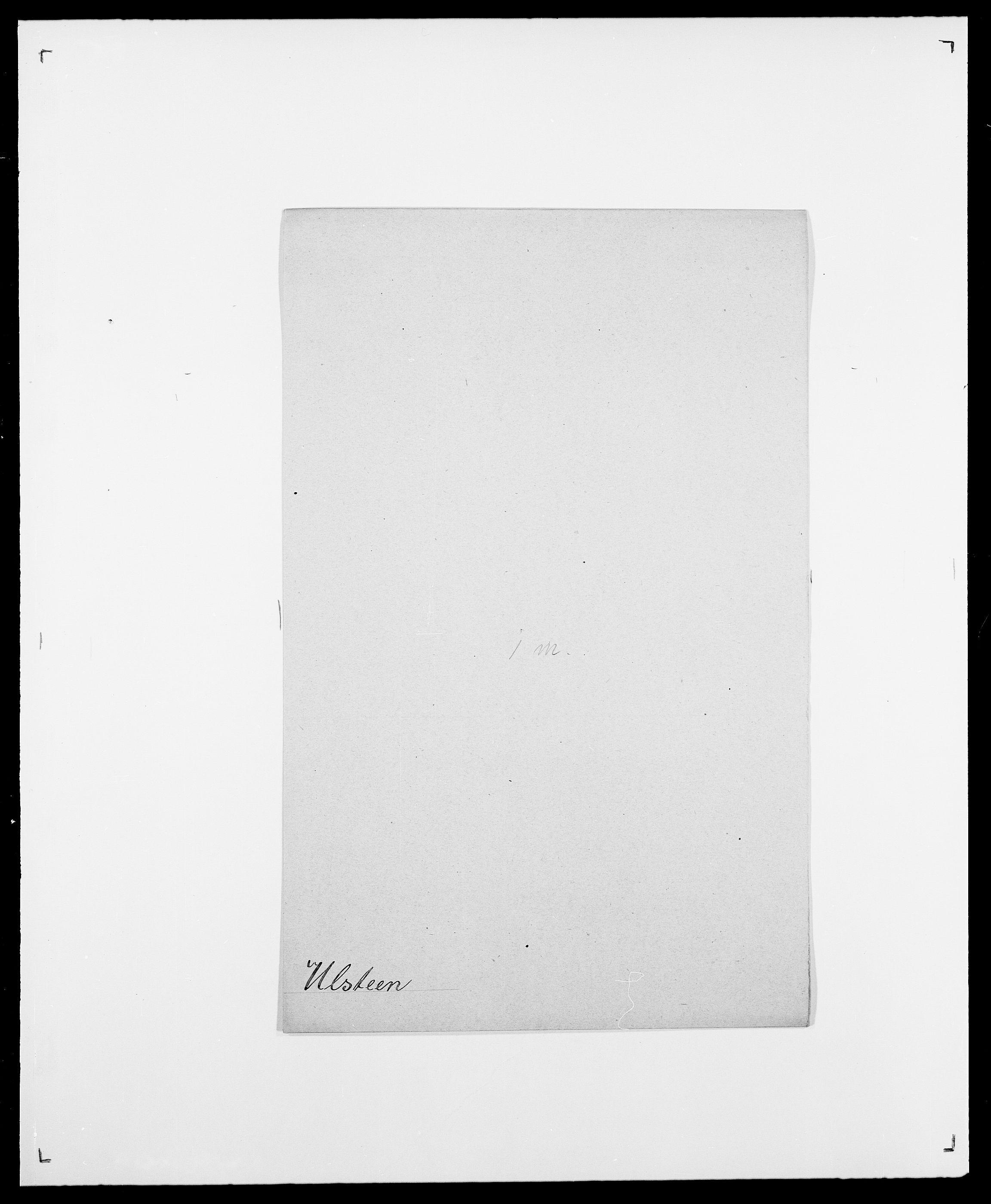 SAO, Delgobe, Charles Antoine - samling, D/Da/L0039: Thorsen - Urup, s. 701