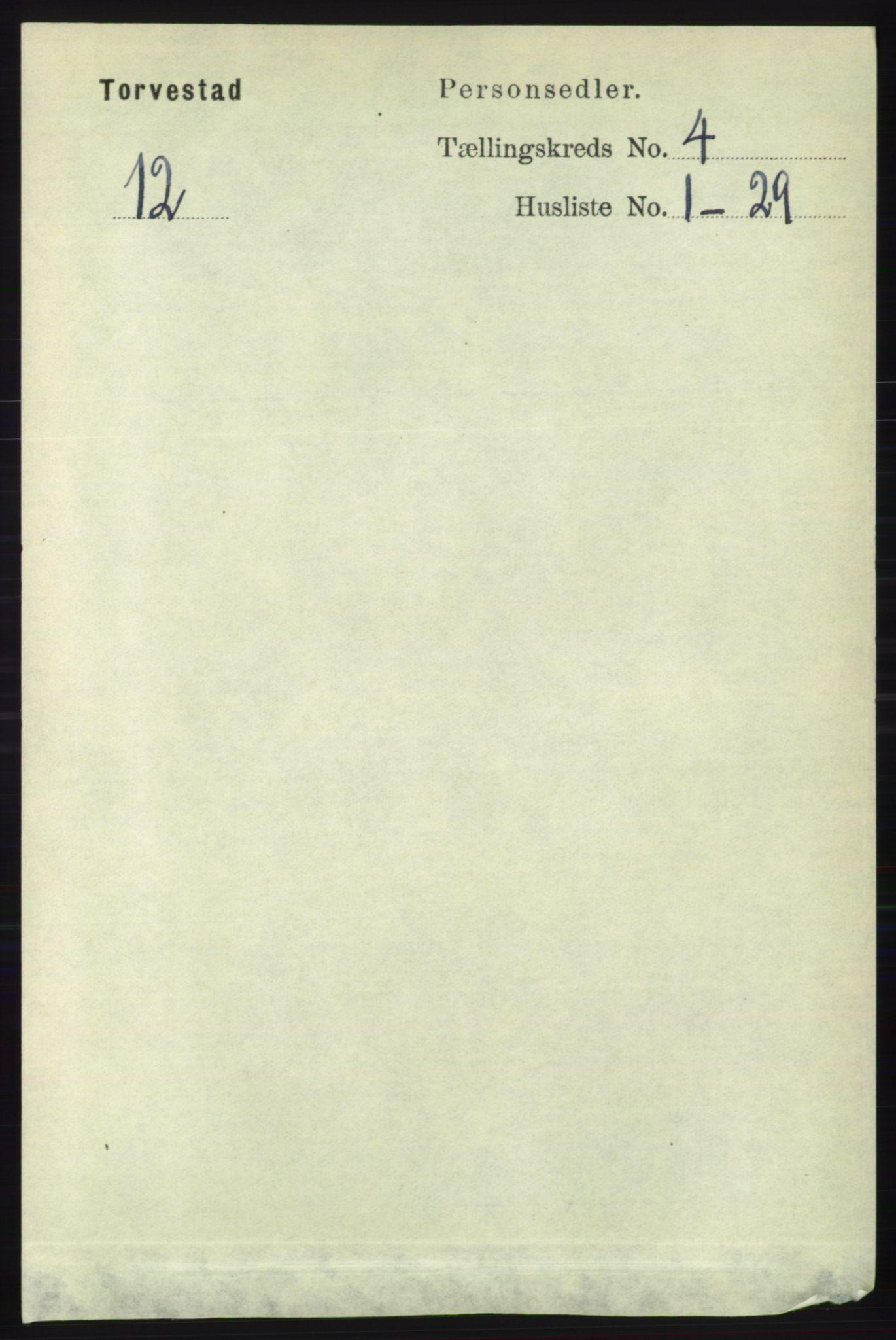 RA, Folketelling 1891 for 1152 Torvastad herred, 1891, s. 1471