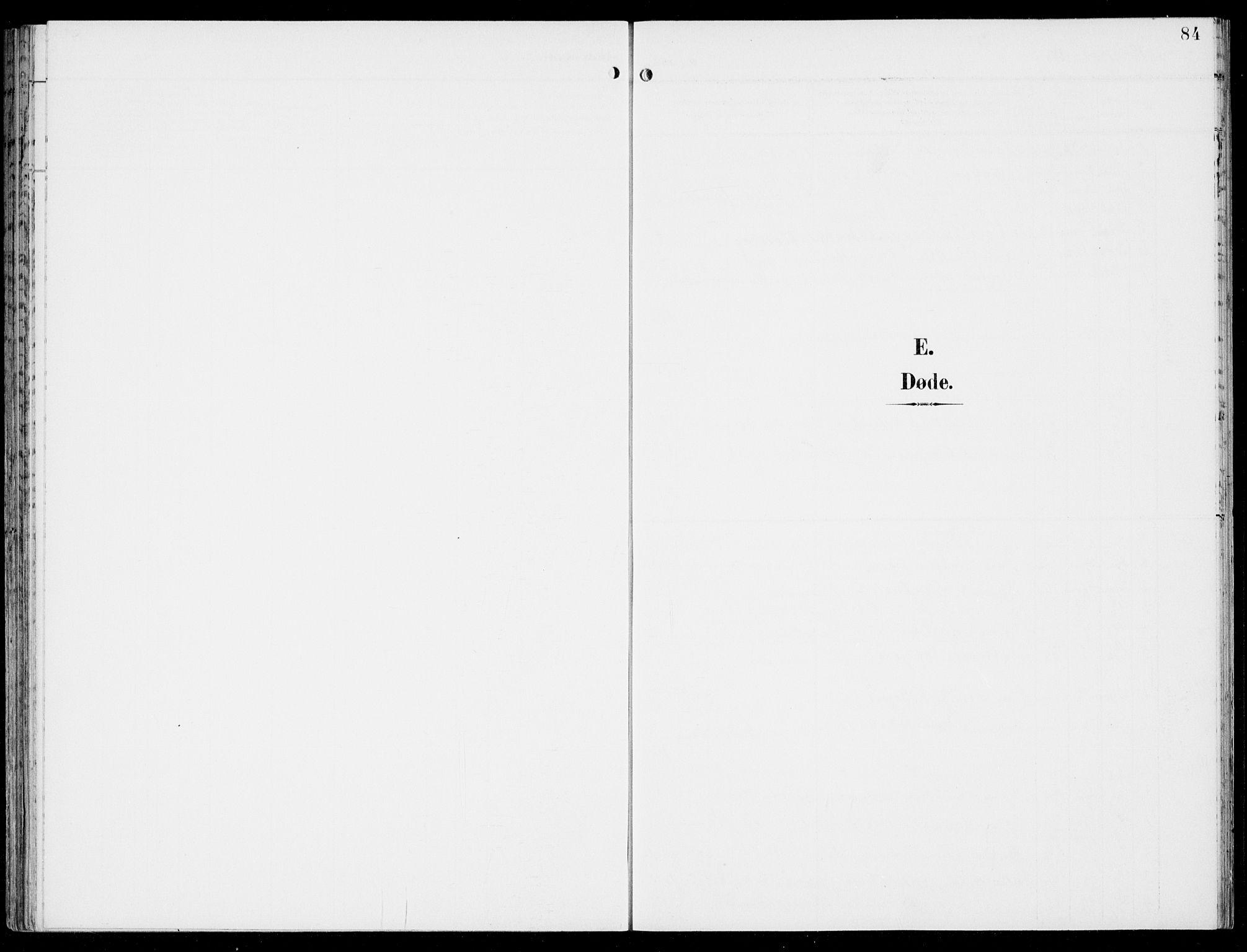 SAB, Hosanger sokneprestembete, H/Haa: Ministerialbok nr. C  2, 1901-1925, s. 84