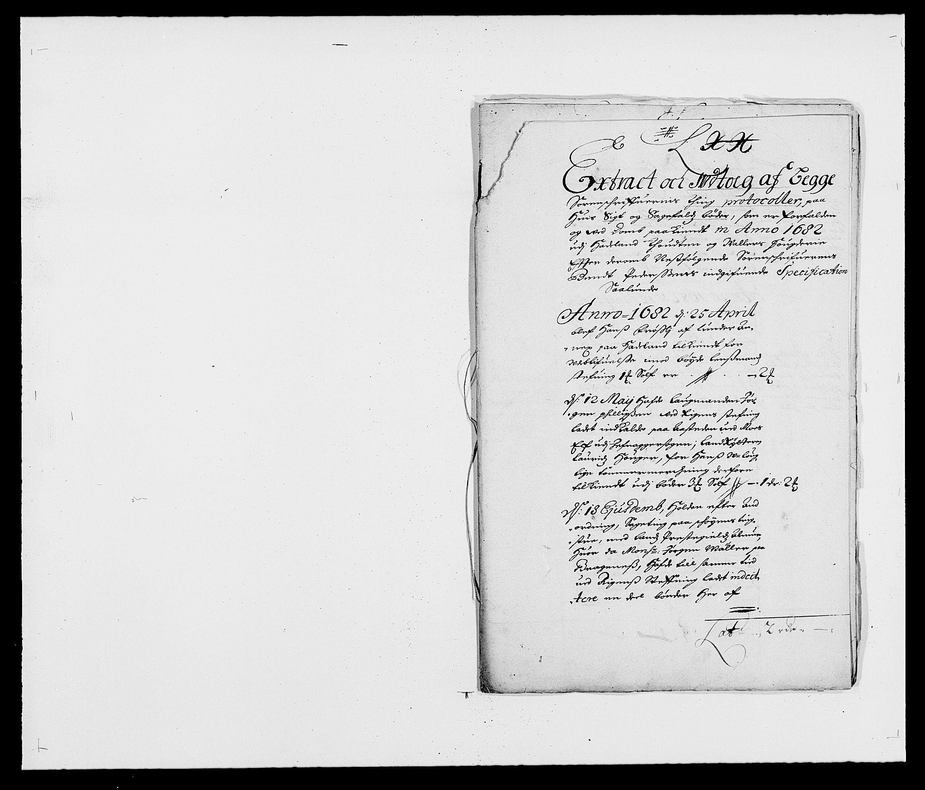 RA, Rentekammeret inntil 1814, Reviderte regnskaper, Fogderegnskap, R18/L1280: Fogderegnskap Hadeland, Toten og Valdres, 1682, s. 137