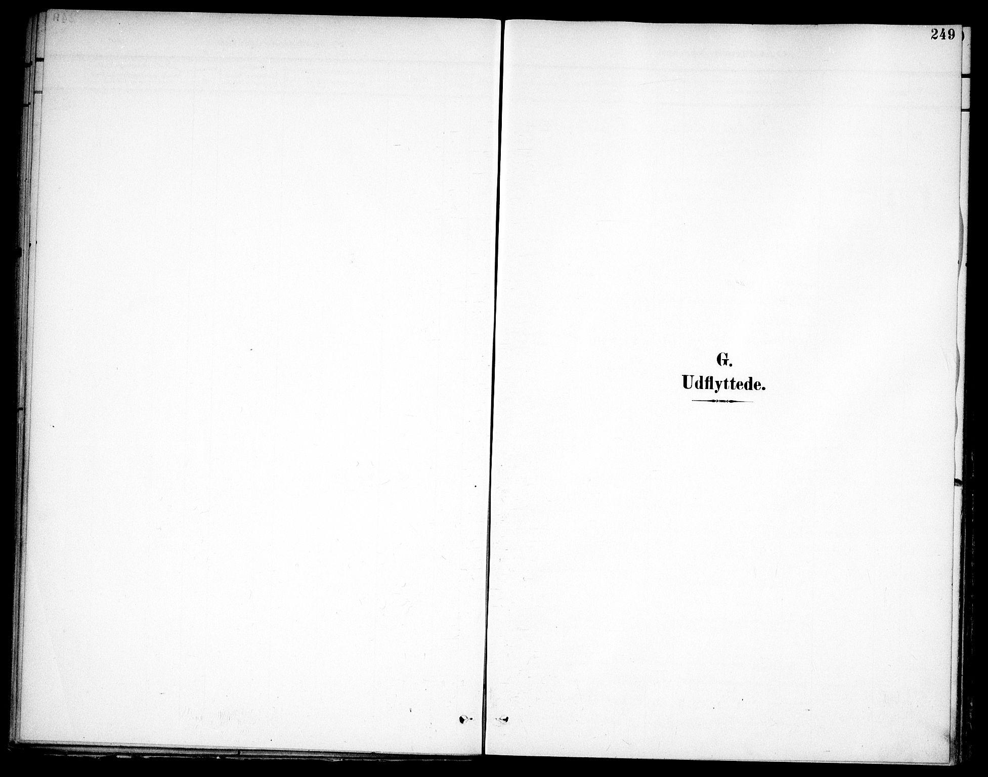 SAO, Høland prestekontor Kirkebøker, F/Fa/L0015: Ministerialbok nr. I 15, 1897-1912, s. 249