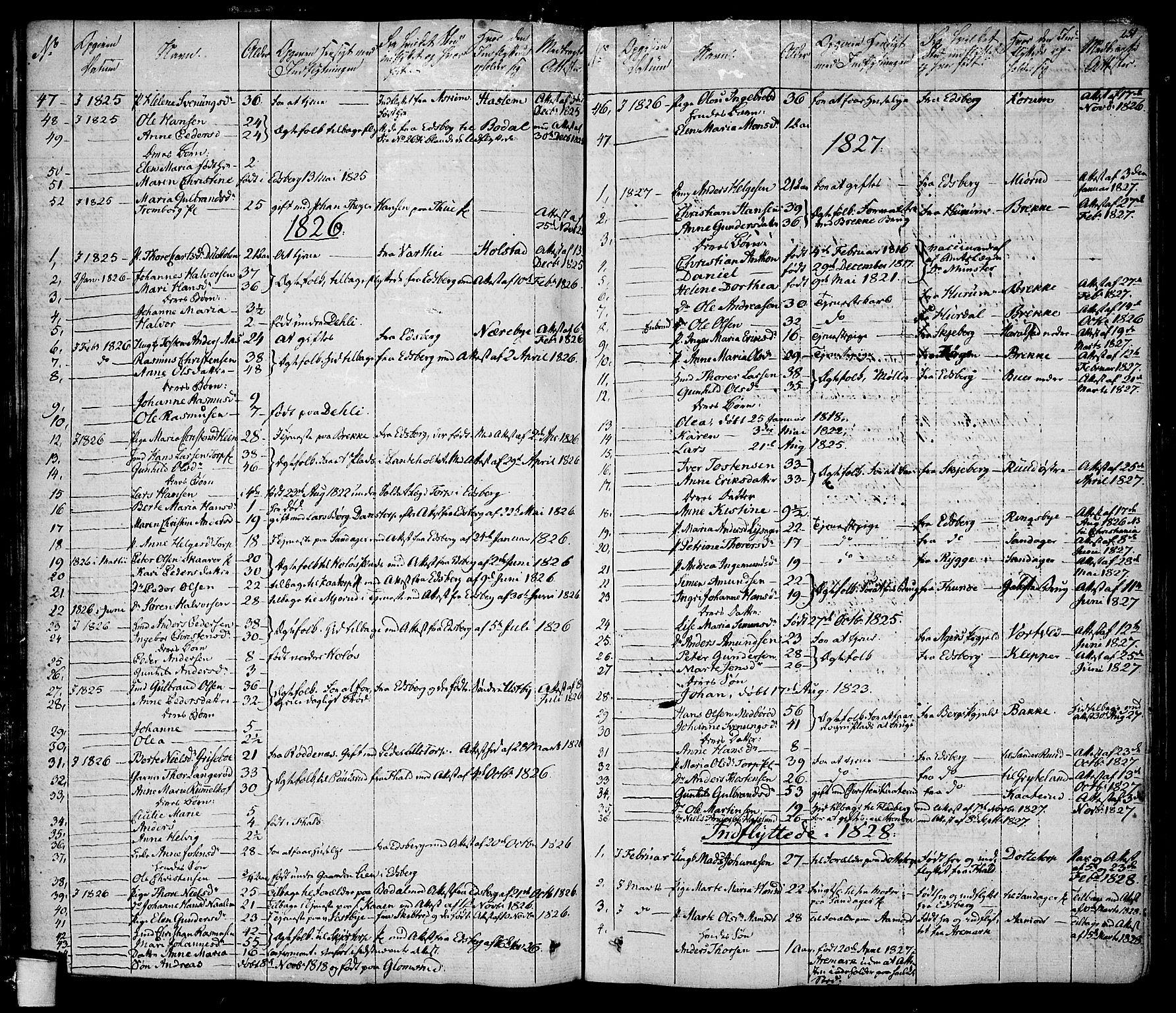 SAO, Rakkestad prestekontor Kirkebøker, F/Fa/L0007: Ministerialbok nr. I 7, 1825-1841, s. 251