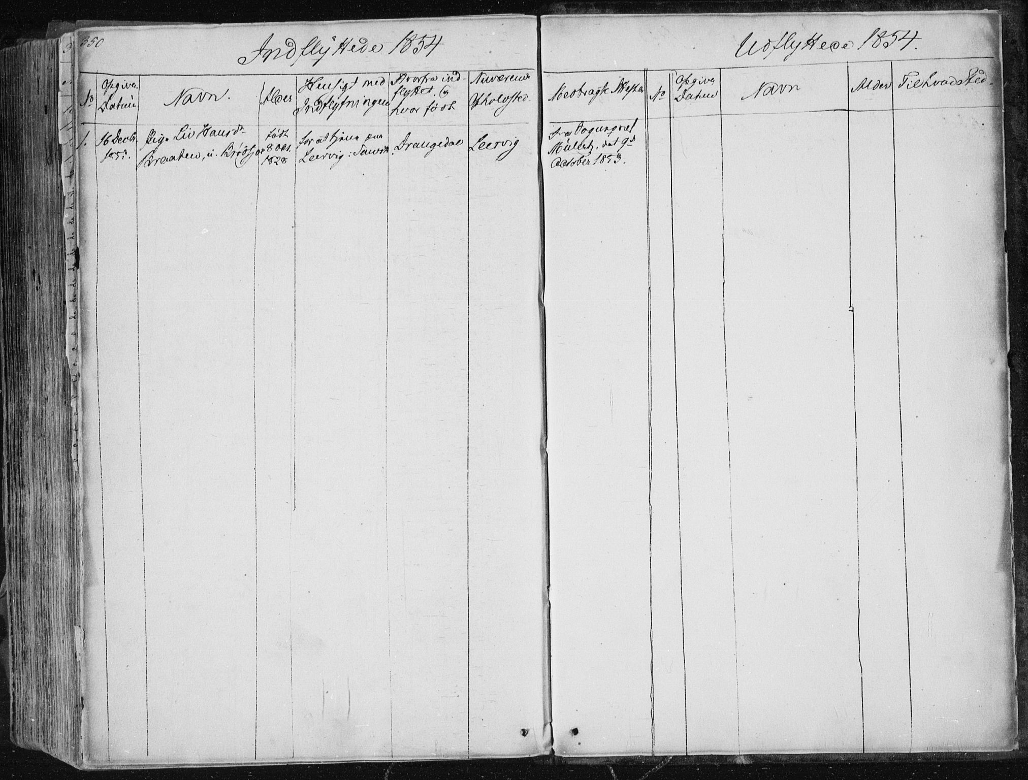 SAKO, Sannidal kirkebøker, F/Fa/L0007: Ministerialbok nr. 7, 1831-1854, s. 350