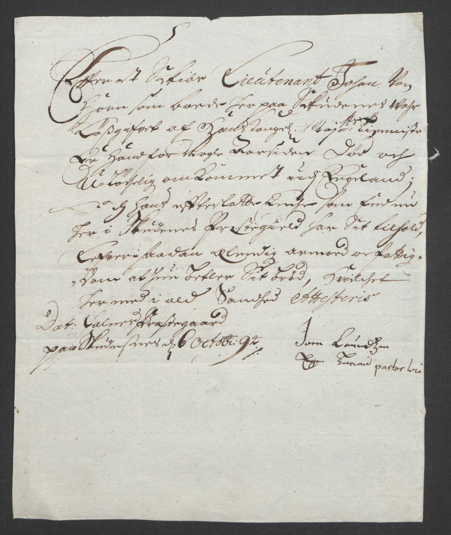 RA, Rentekammeret inntil 1814, Reviderte regnskaper, Fogderegnskap, R47/L2857: Fogderegnskap Ryfylke, 1694-1696, s. 76
