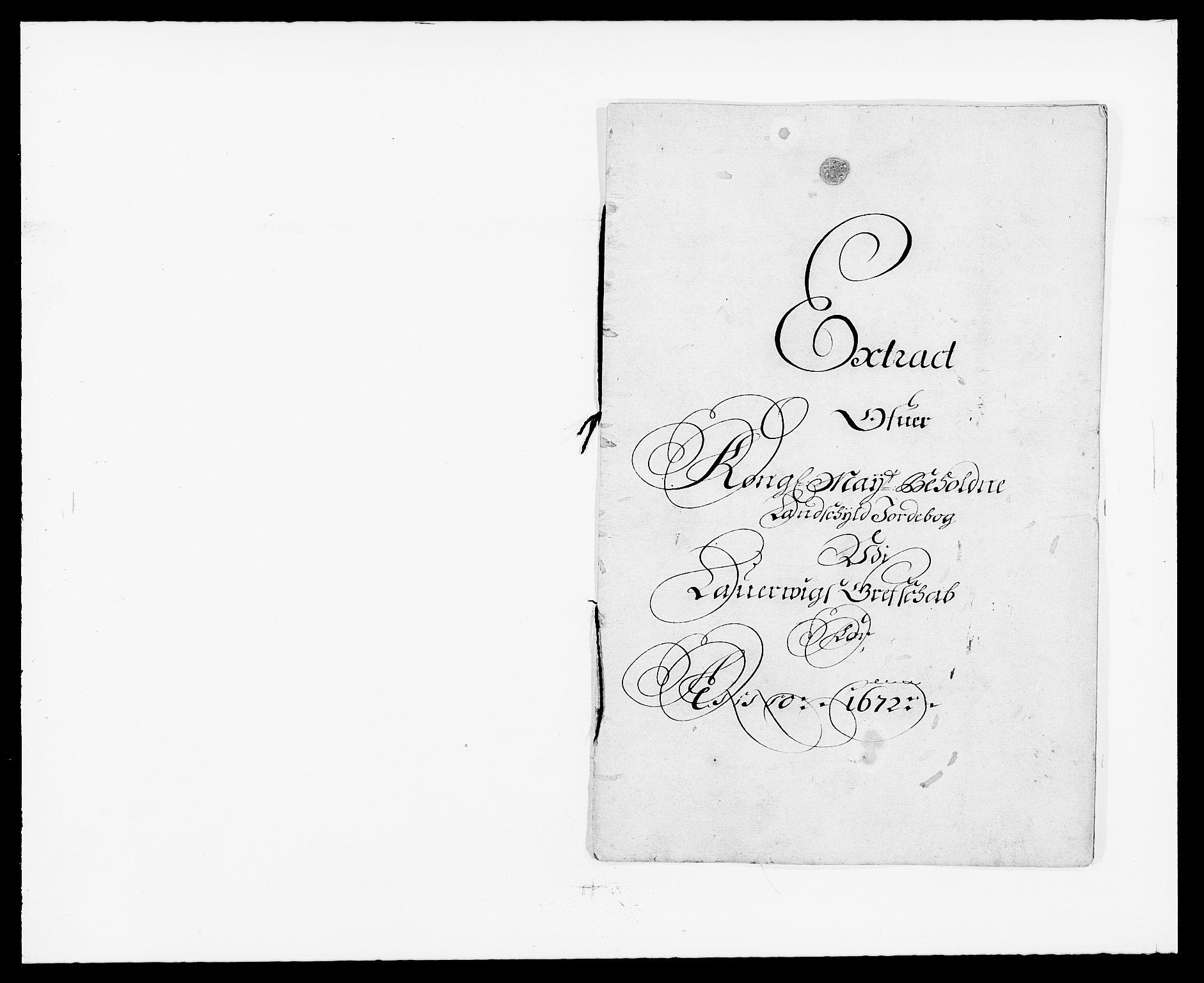 RA, Rentekammeret inntil 1814, Reviderte regnskaper, Fogderegnskap, R33/L1966: Fogderegnskap Larvik grevskap, 1672-1674, s. 78