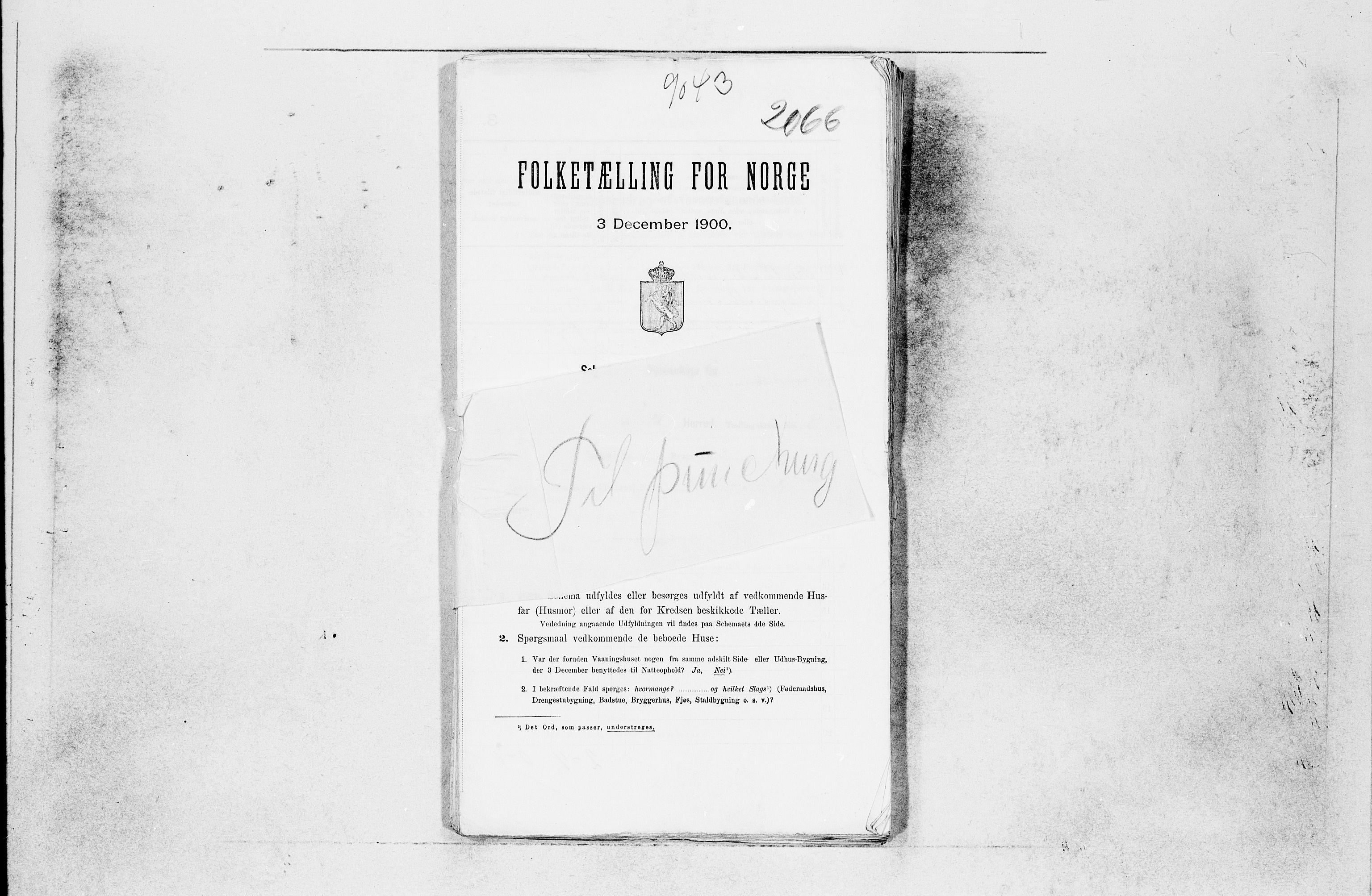 SAB, Folketelling 1900 for 1246 Fjell herred, 1900, s. 21