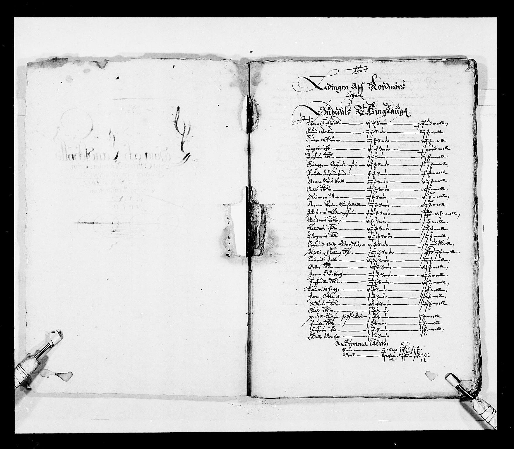 RA, Stattholderembetet 1572-1771, Ek/L0028: Jordebøker 1633-1658:, 1645-1646, s. 3