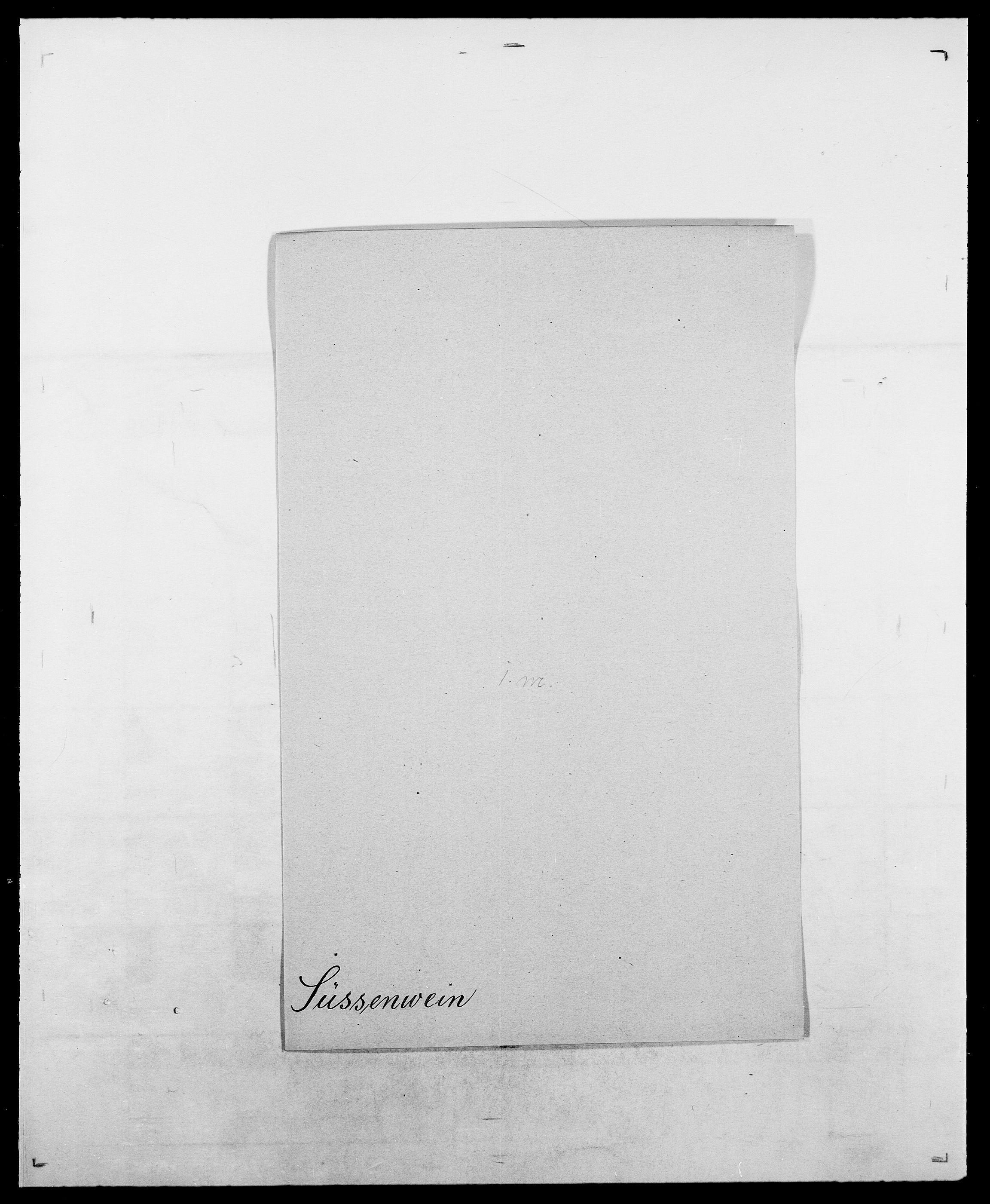 SAO, Delgobe, Charles Antoine - samling, D/Da/L0038: Svanenskjold - Thornsohn, s. 109