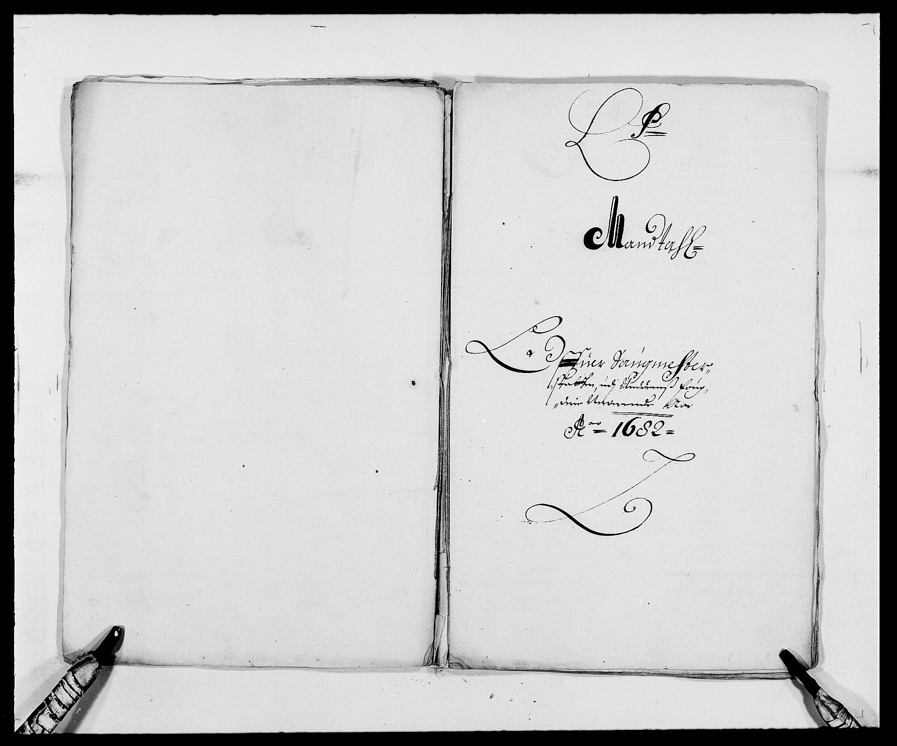 RA, Rentekammeret inntil 1814, Reviderte regnskaper, Fogderegnskap, R39/L2304: Fogderegnskap Nedenes, 1680-1682, s. 347