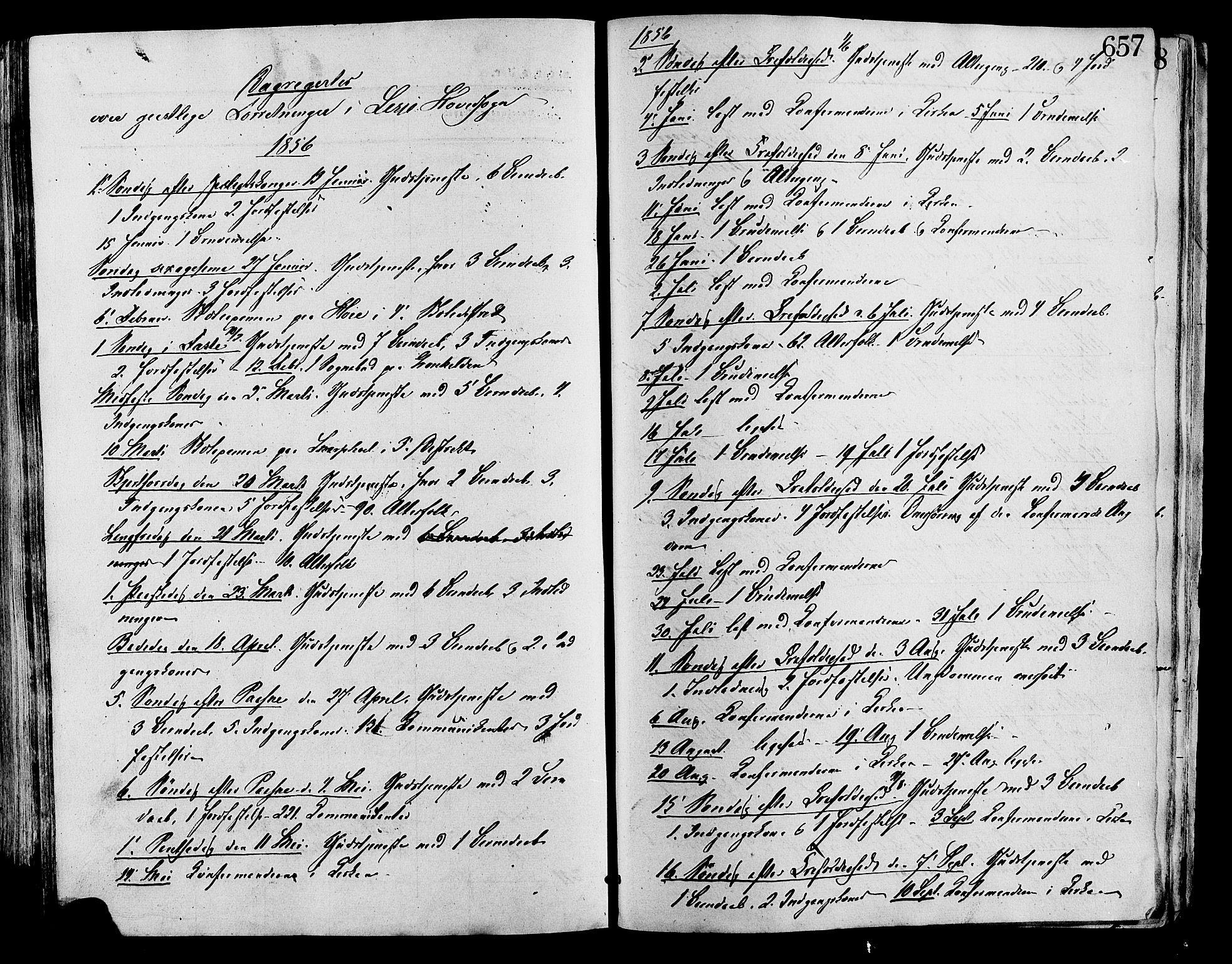 SAH, Lesja prestekontor, Ministerialbok nr. 8, 1854-1880, s. 657