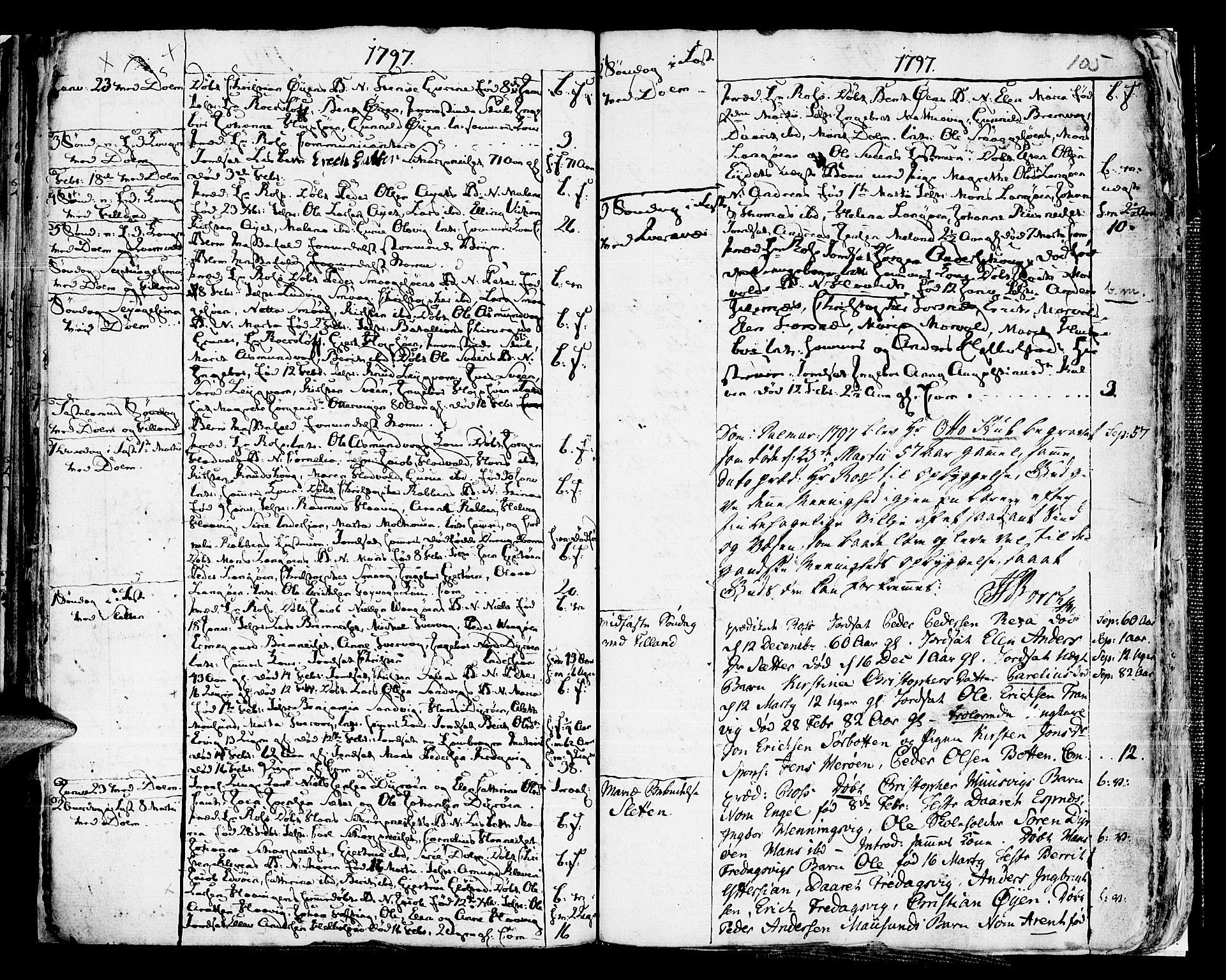 SAT, Ministerialprotokoller, klokkerbøker og fødselsregistre - Sør-Trøndelag, 634/L0526: Ministerialbok nr. 634A02, 1775-1818, s. 105