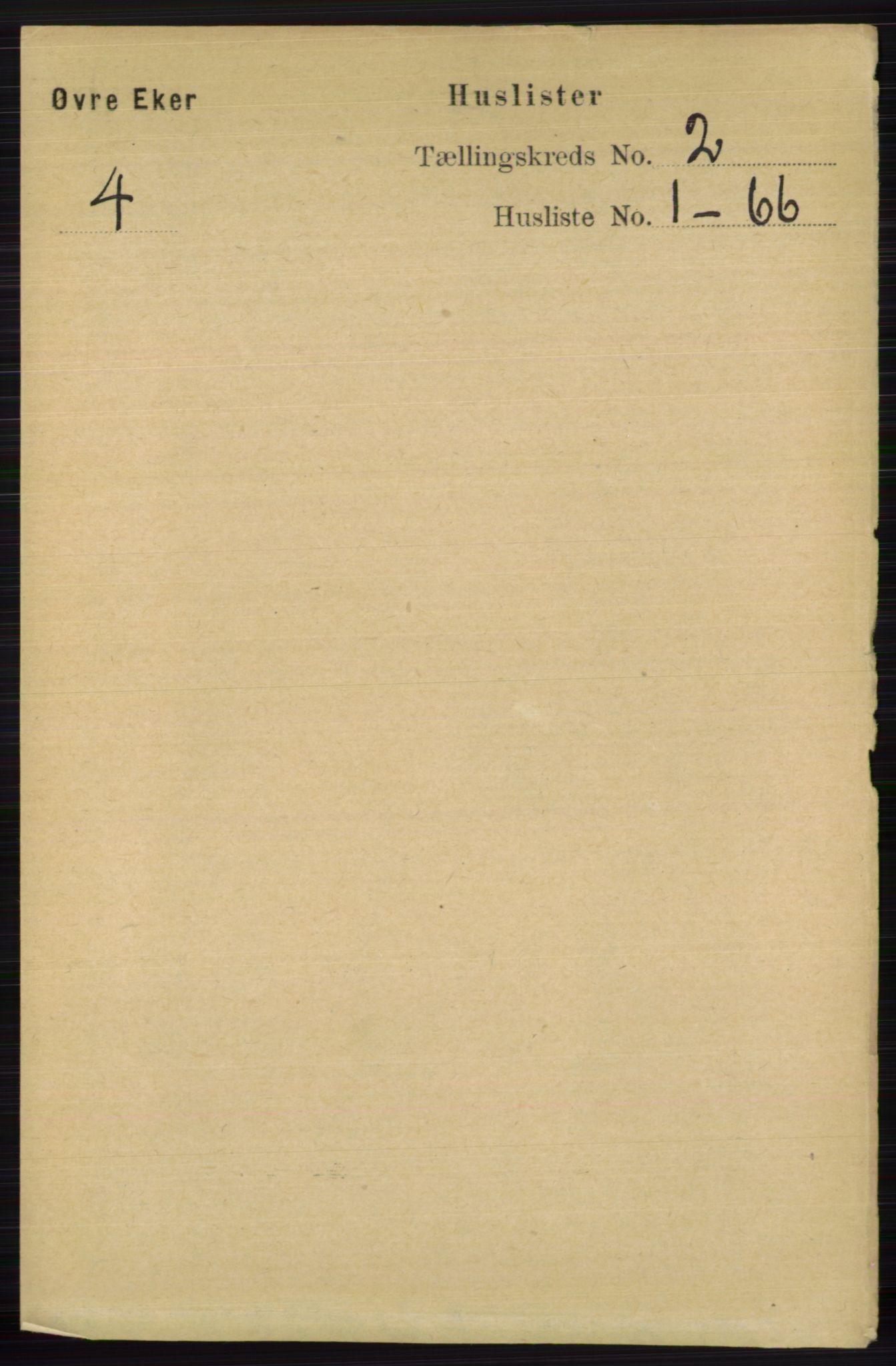 RA, Folketelling 1891 for 0624 Øvre Eiker herred, 1891, s. 469