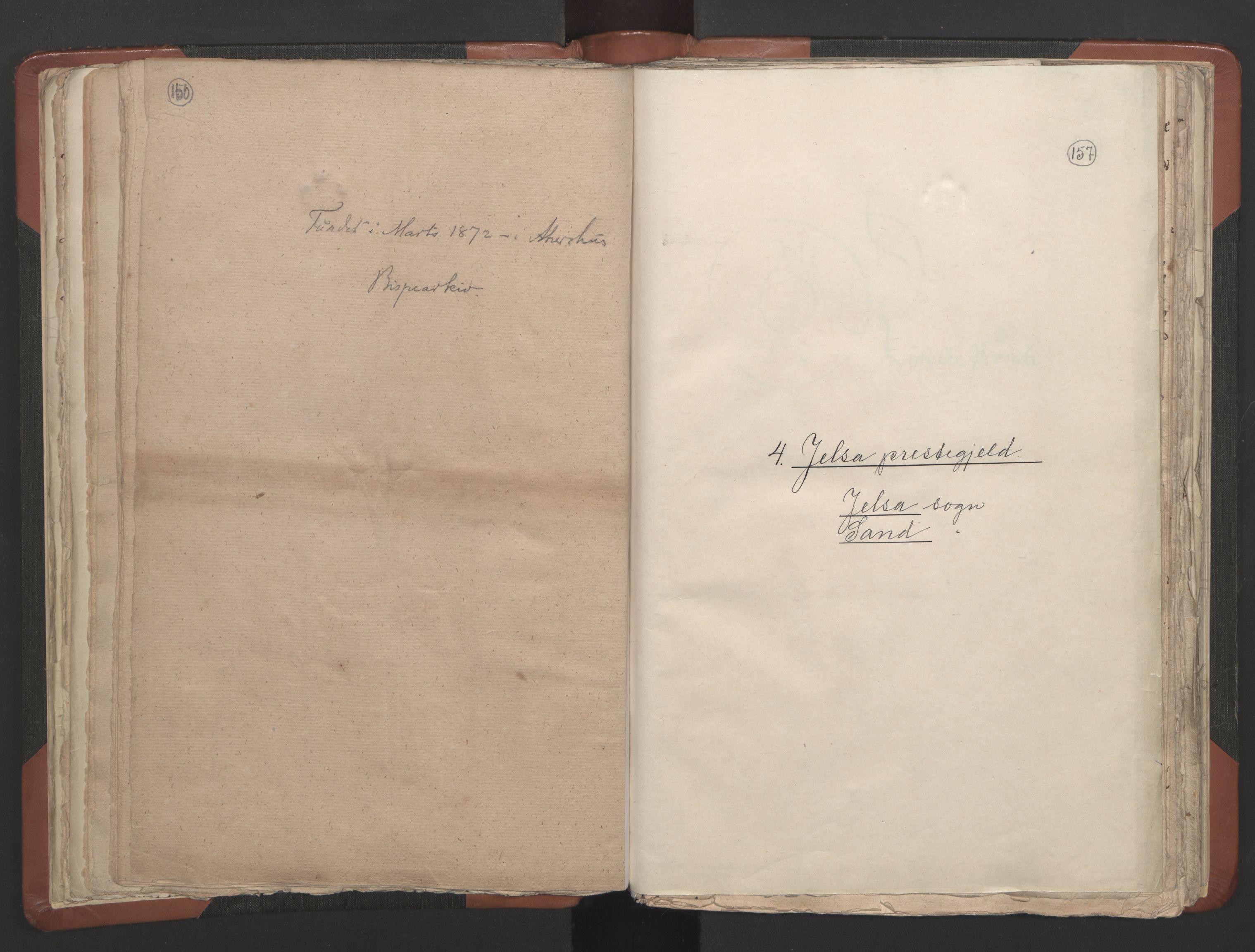 RA, Sogneprestenes manntall 1664-1666, nr. 19: Ryfylke prosti, 1664-1666, s. 156-157